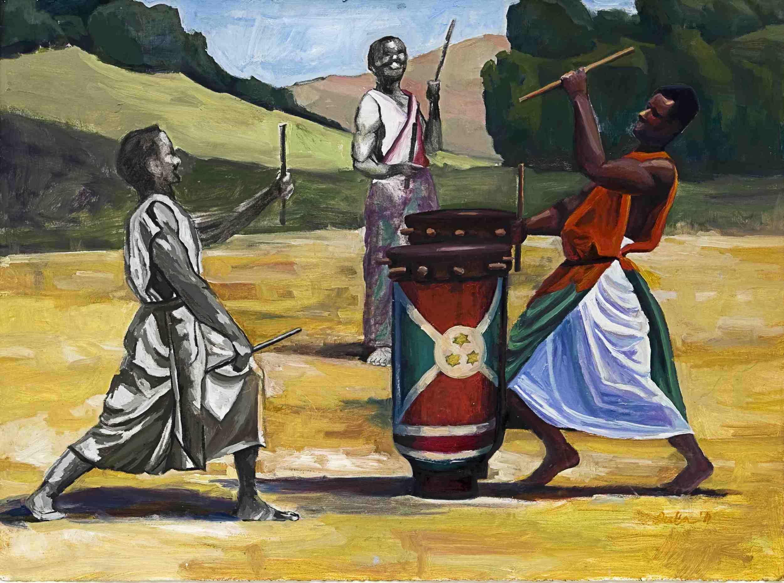 Burundi Drummers- Copyright 2011