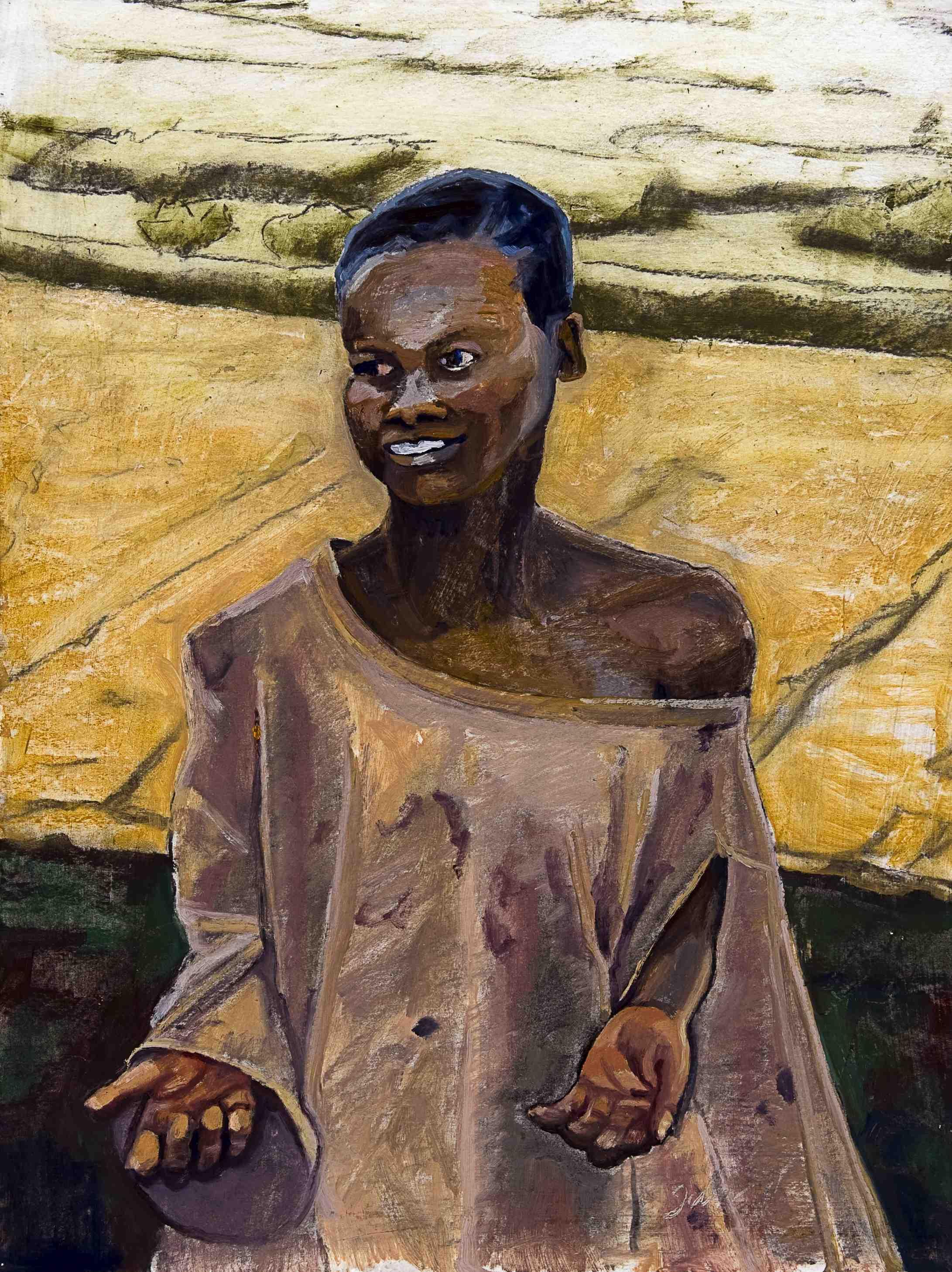 Batwa Beggar- Copyright 2011