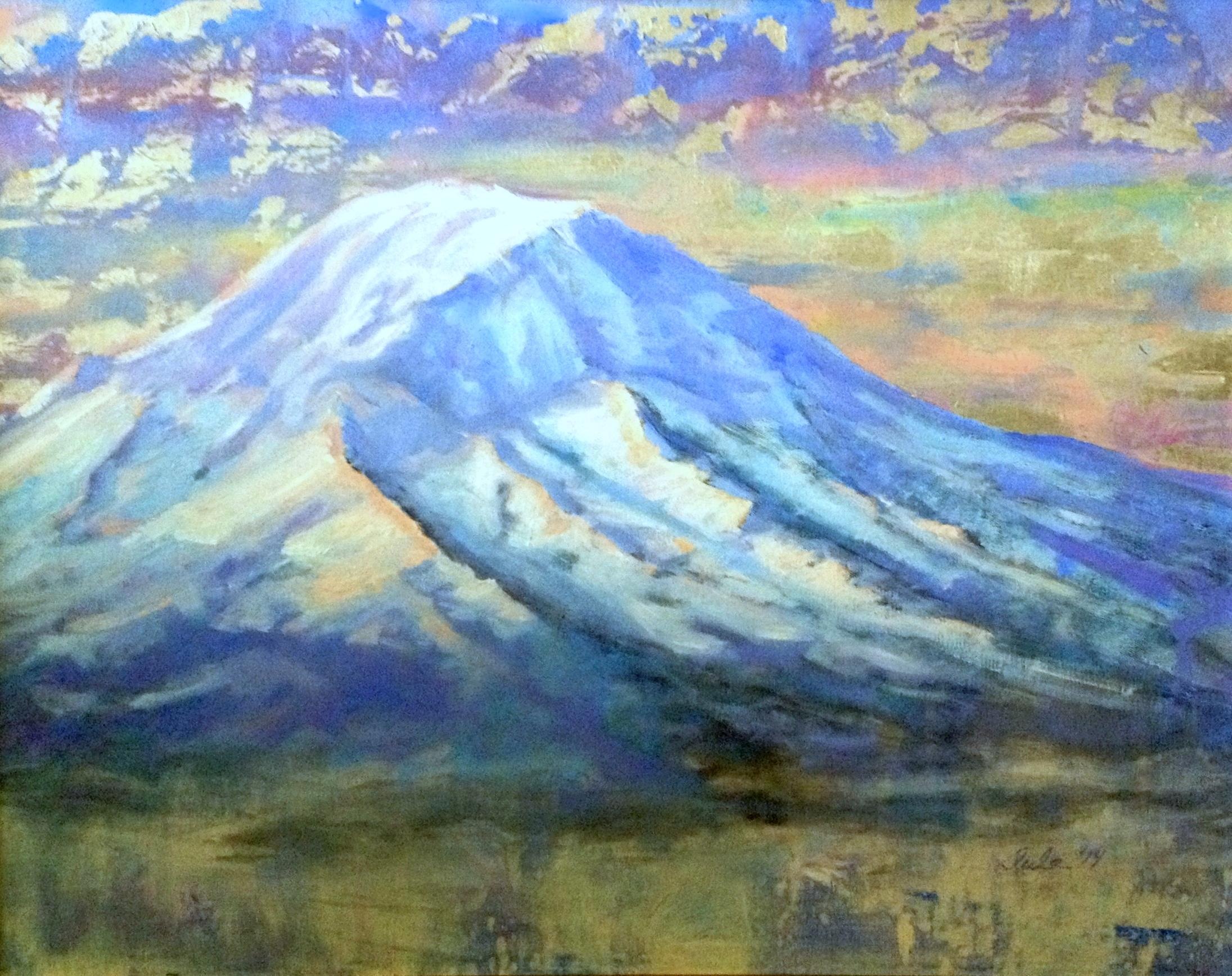 Mount Rainier- Copyright 2014