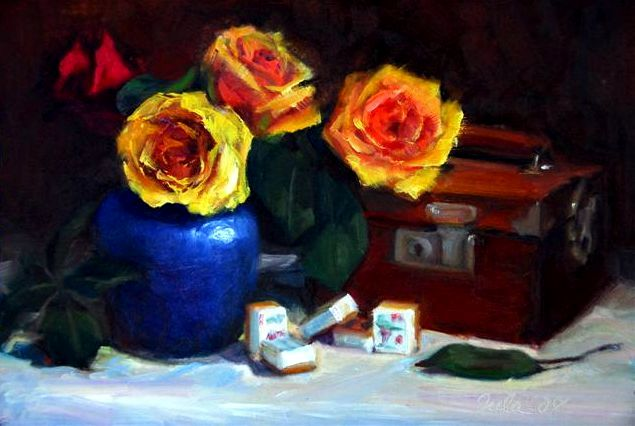 Roses and Mah Jong- Copyright 2007