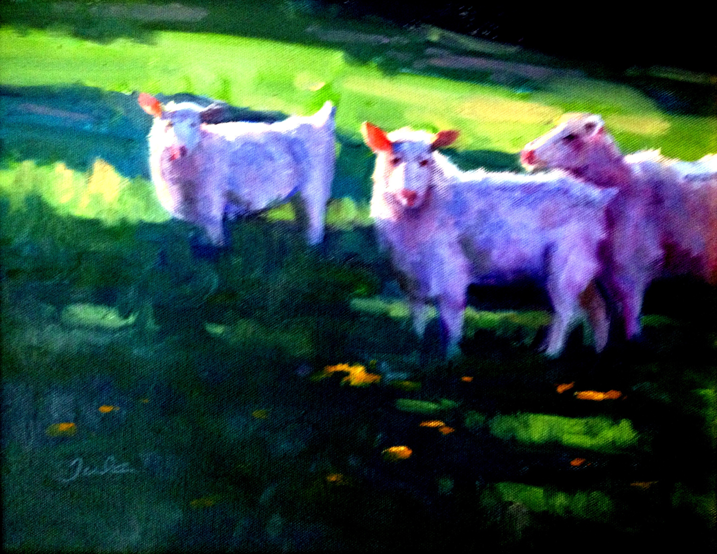 Easter Sheep- Copyright 2009