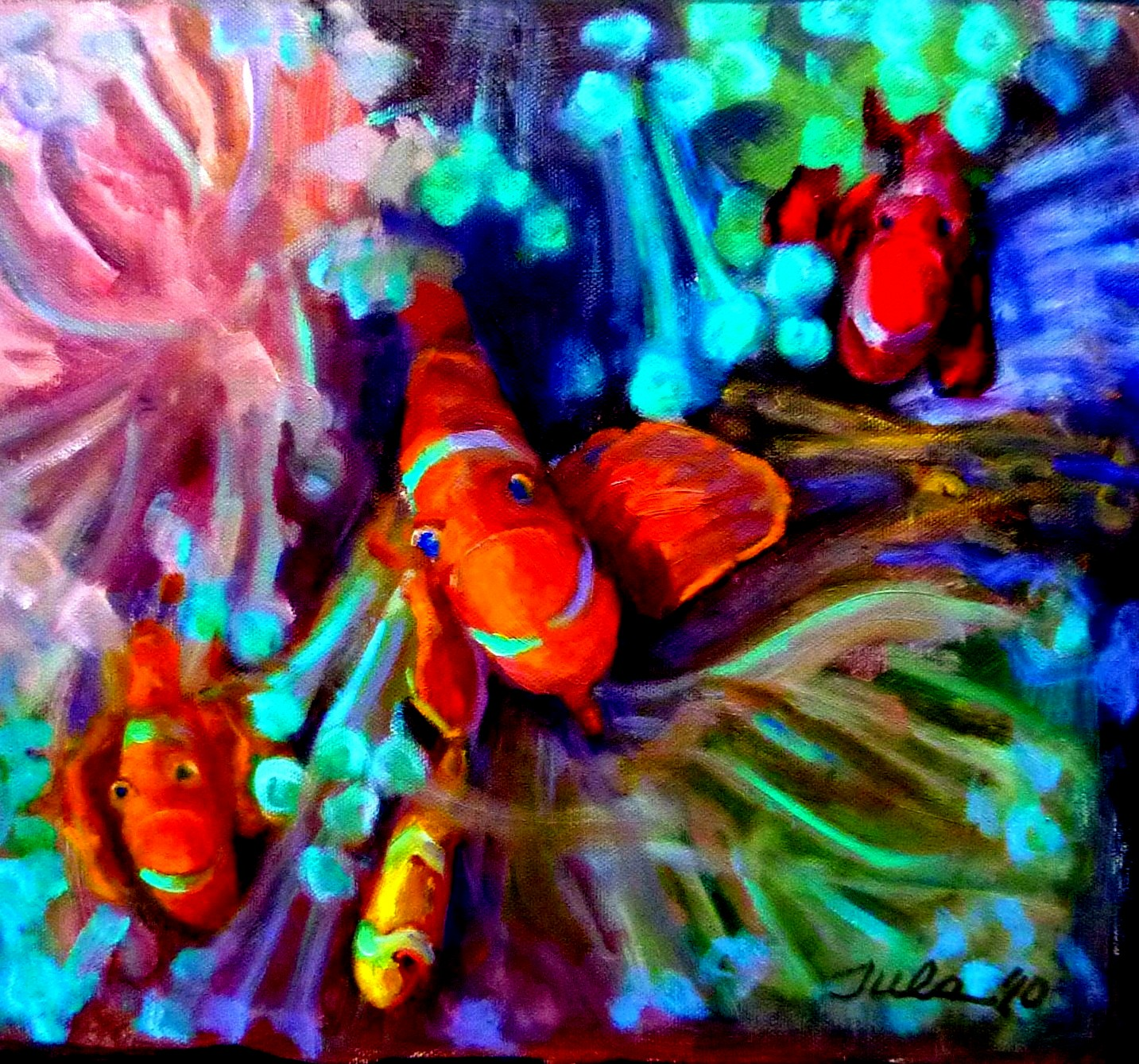 False Clown Fish- Copyright 2010