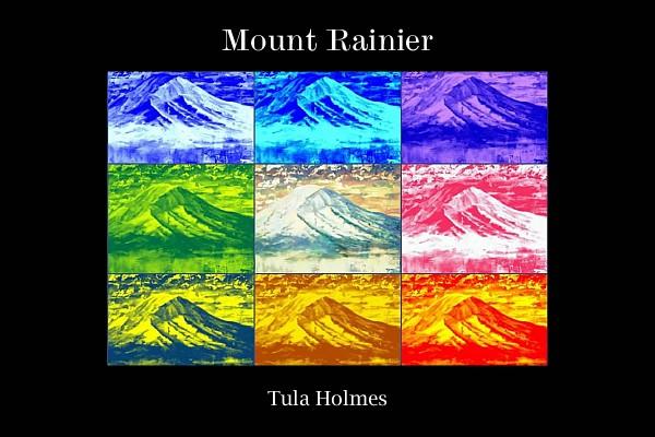 "20""x30"" Mount Rainier Collage Poster"