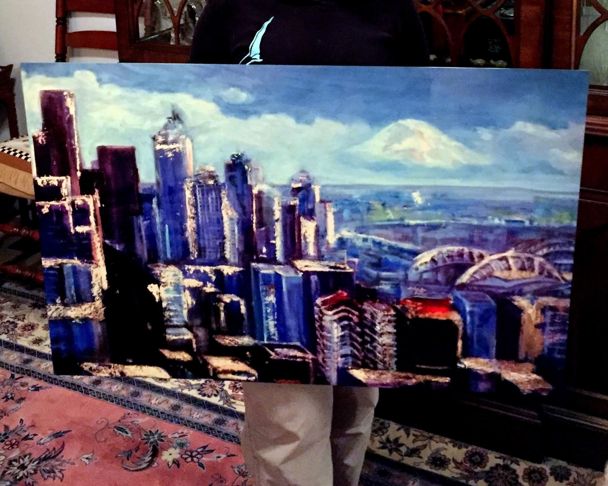 Seattle Skyline- Copyright 2015