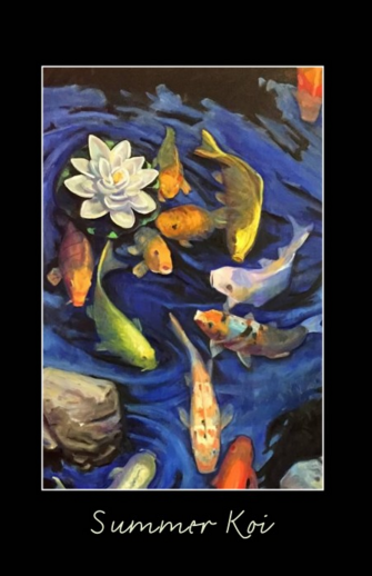 Summer Koi Posters- Copyright 2016