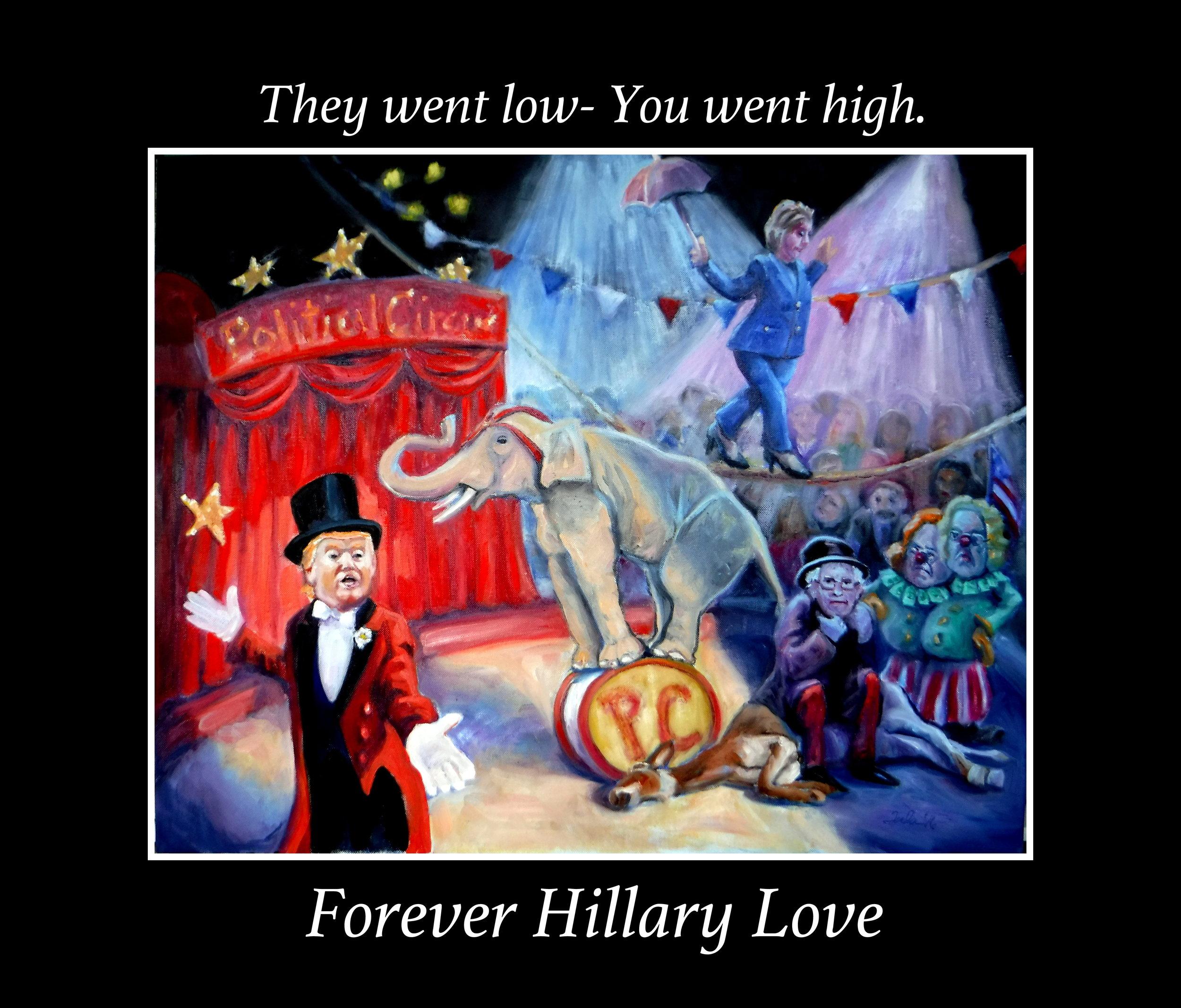 Forever Hillary Love- Copyright 2016