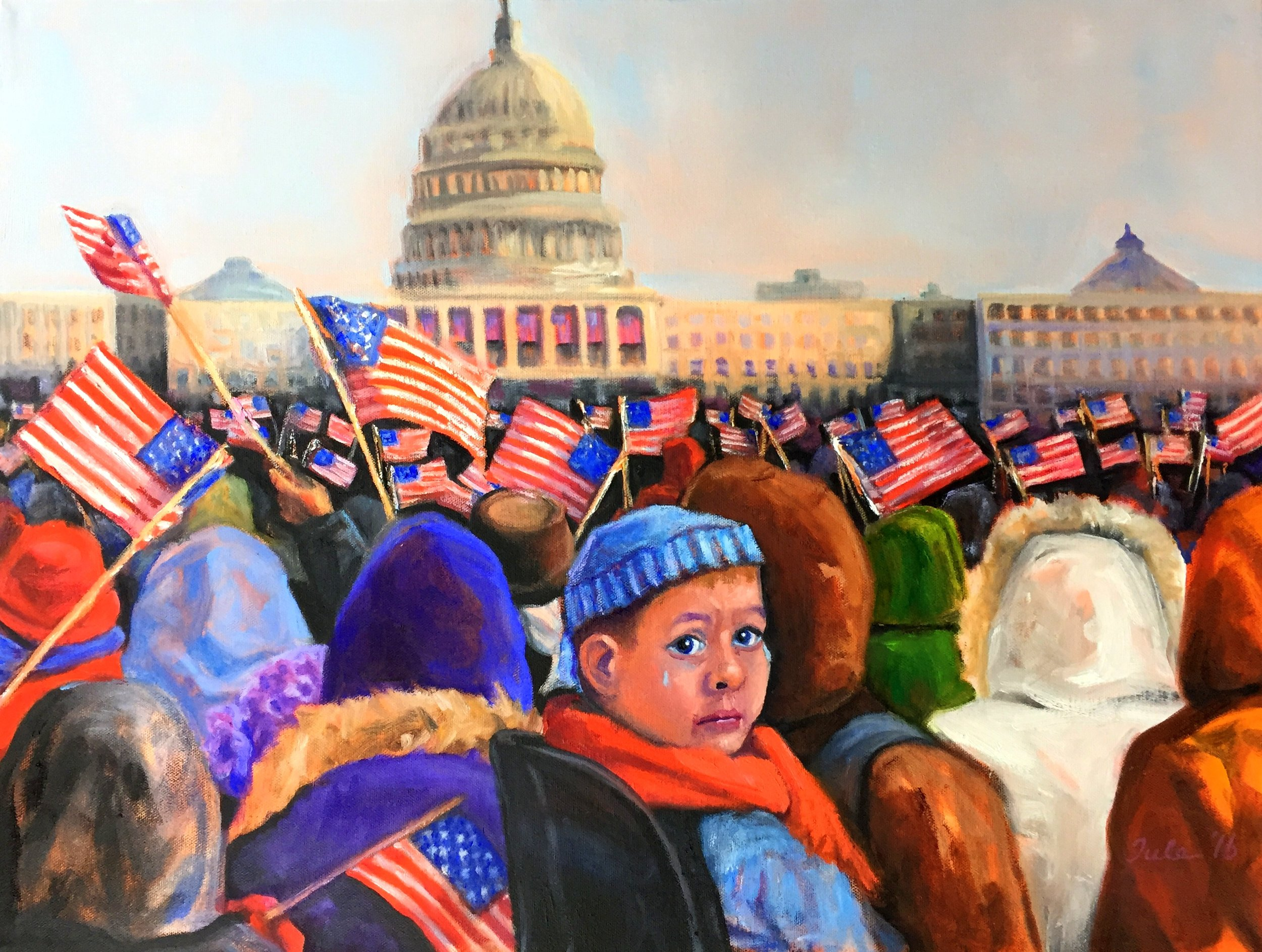 The 2017 Inauguration- What Have You Done?- Copyright 2016