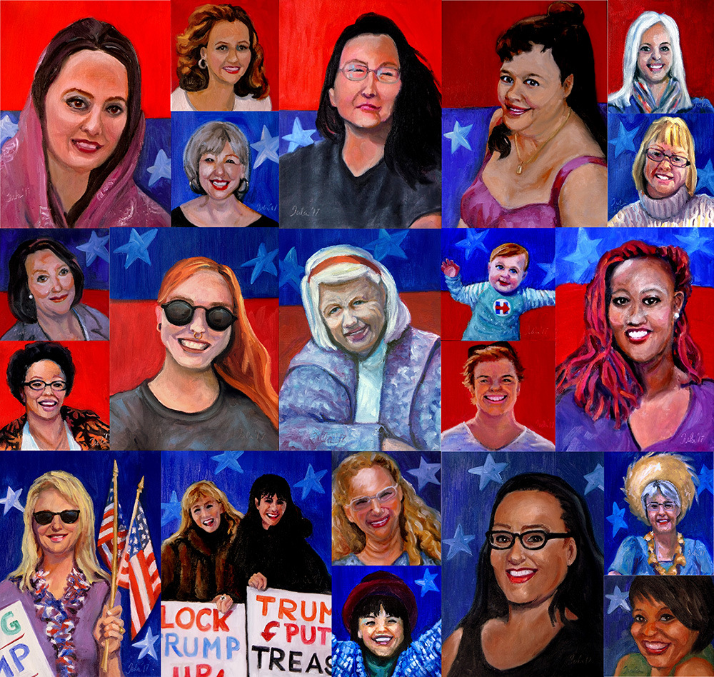 The Women's March- Copyright 2017