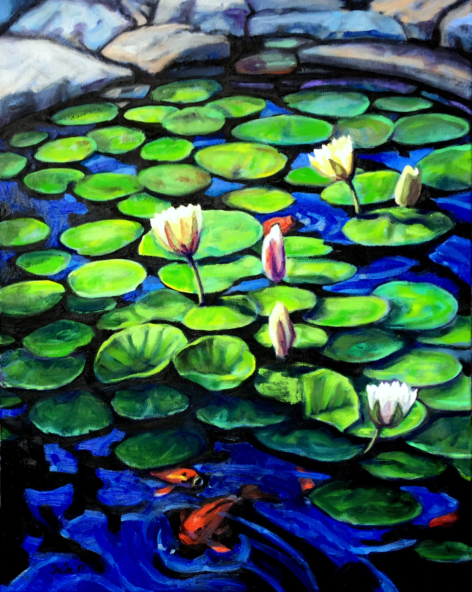 The Lily Pond- Copyright 2017