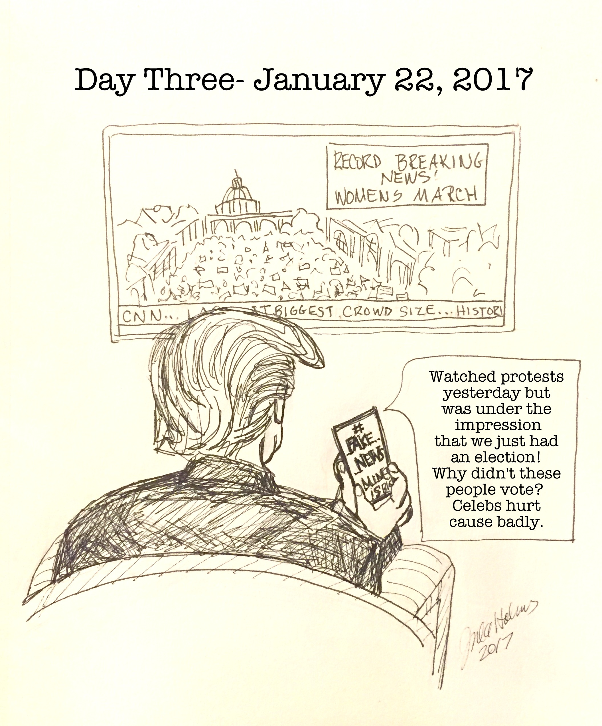 Day 3- January 22, 2017, Copyright 2017