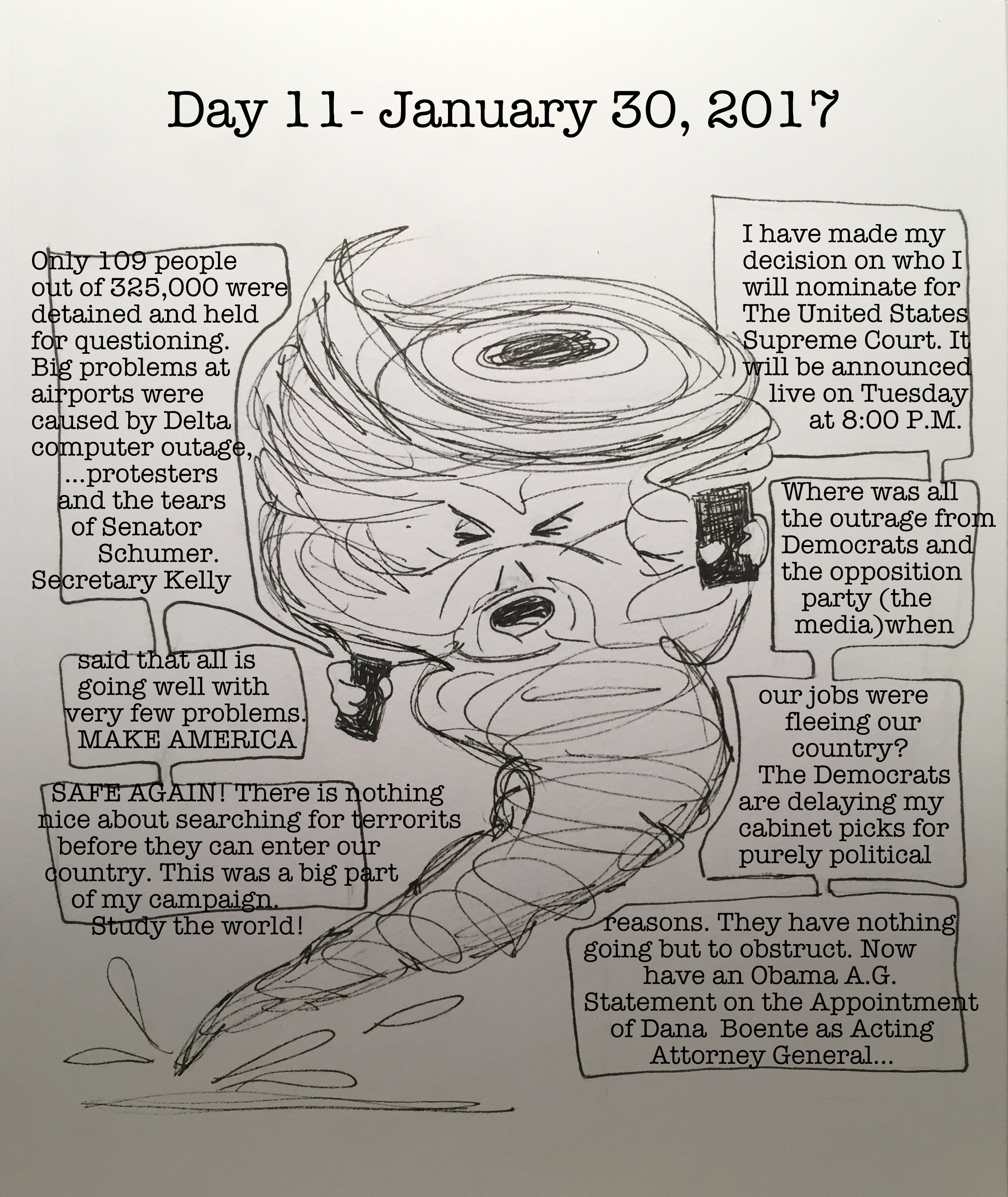 Day 11- January 30, 2017- Copyright 2017