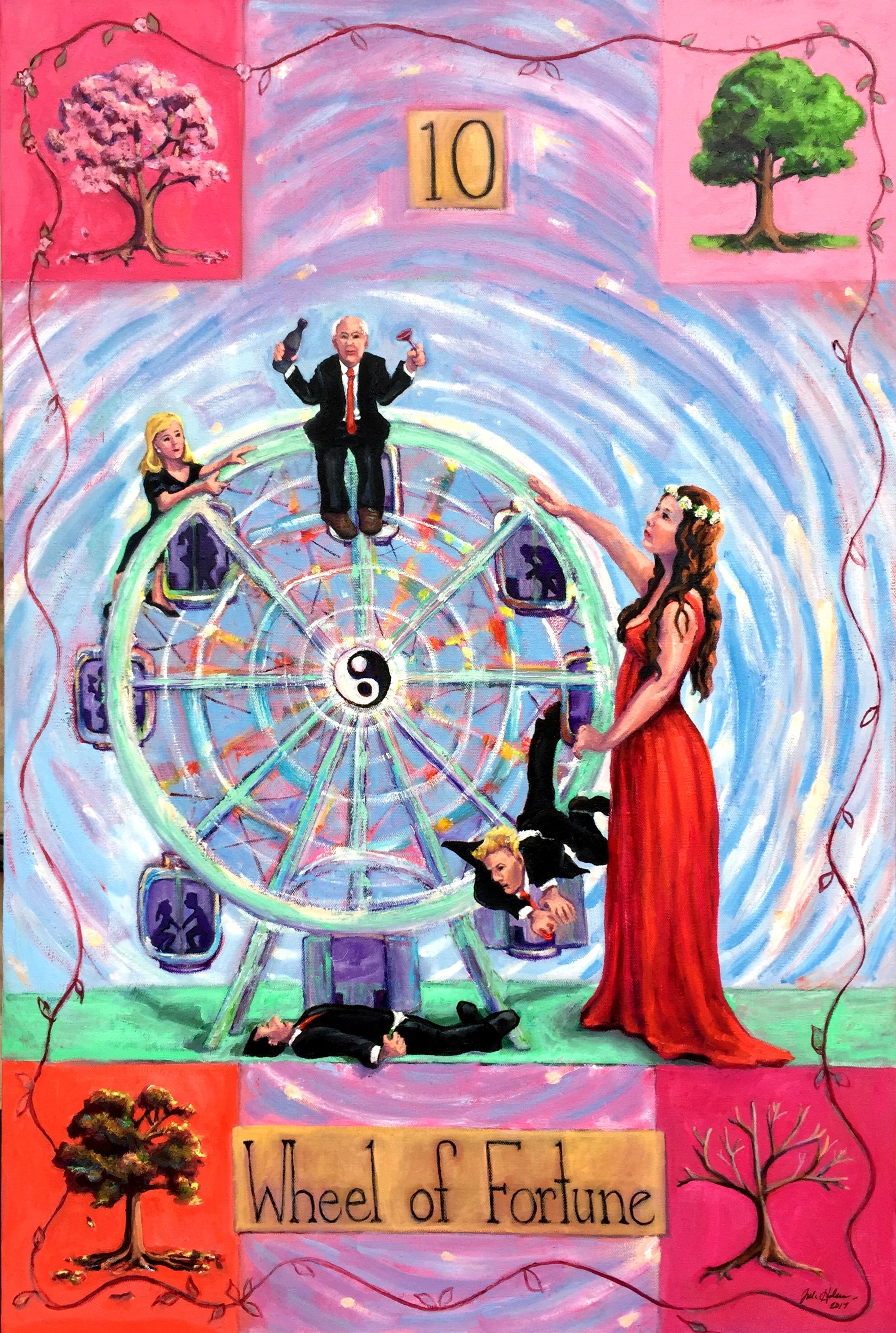 Tarot Ten- The Wheel- Copyright 2017
