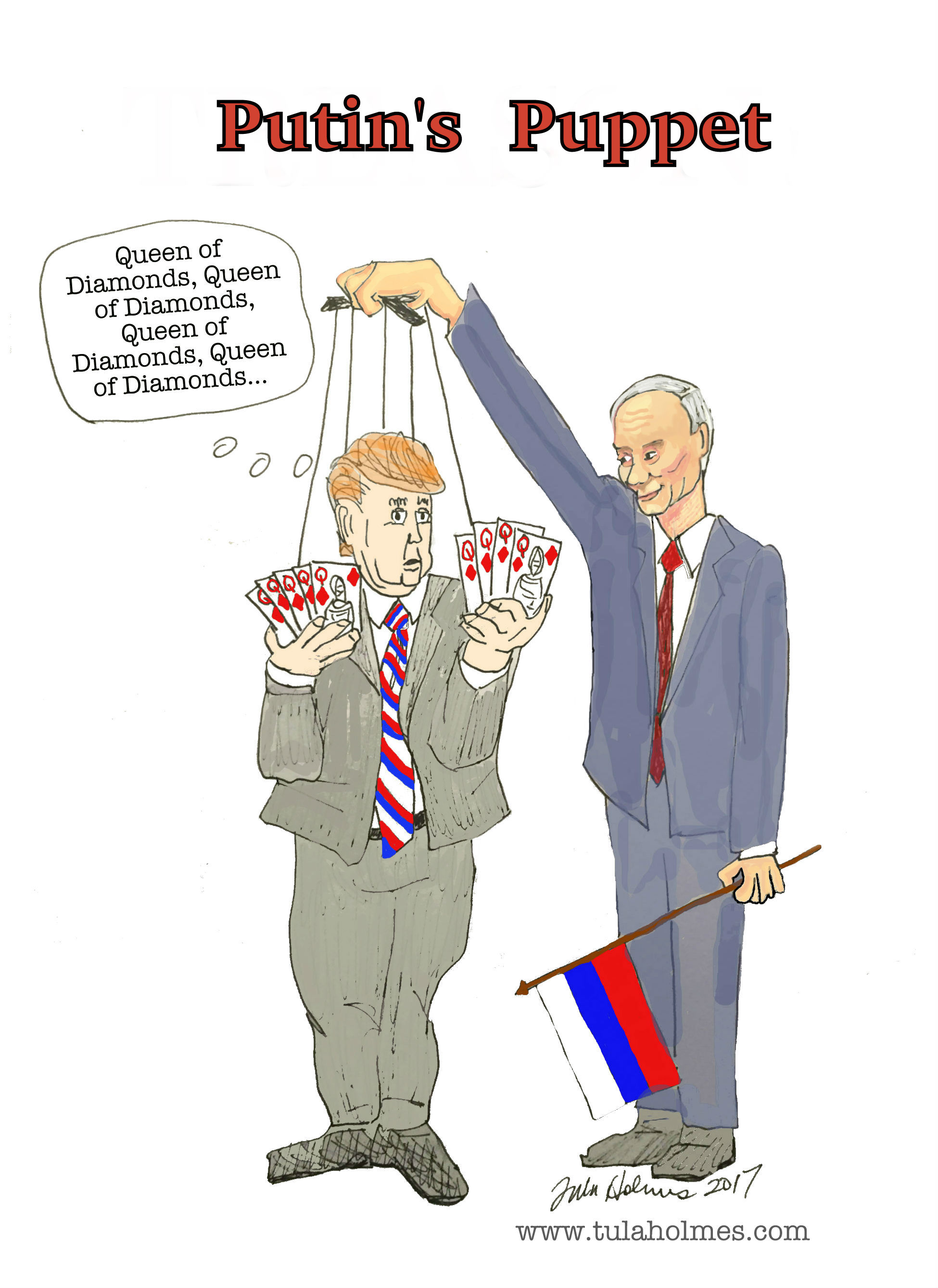 Russia's Candidate- Copyright 2017