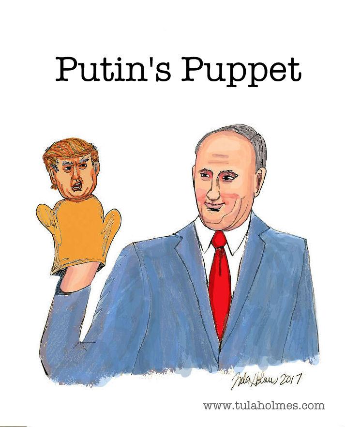 Putin's Puppet- Copyright 2017