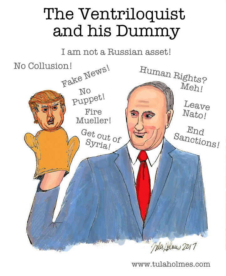 The Ventriloquist and his Dummy- Copyright 2017