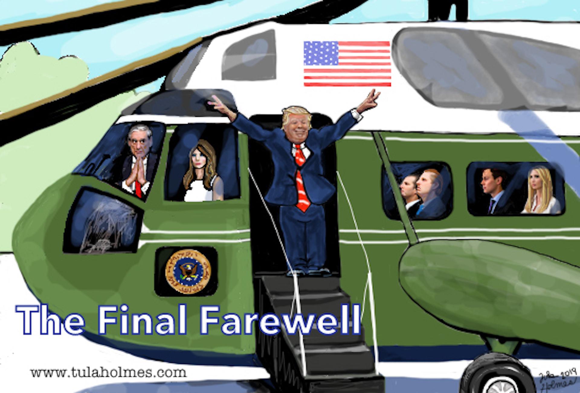The Final Farewell- Copyright 2019