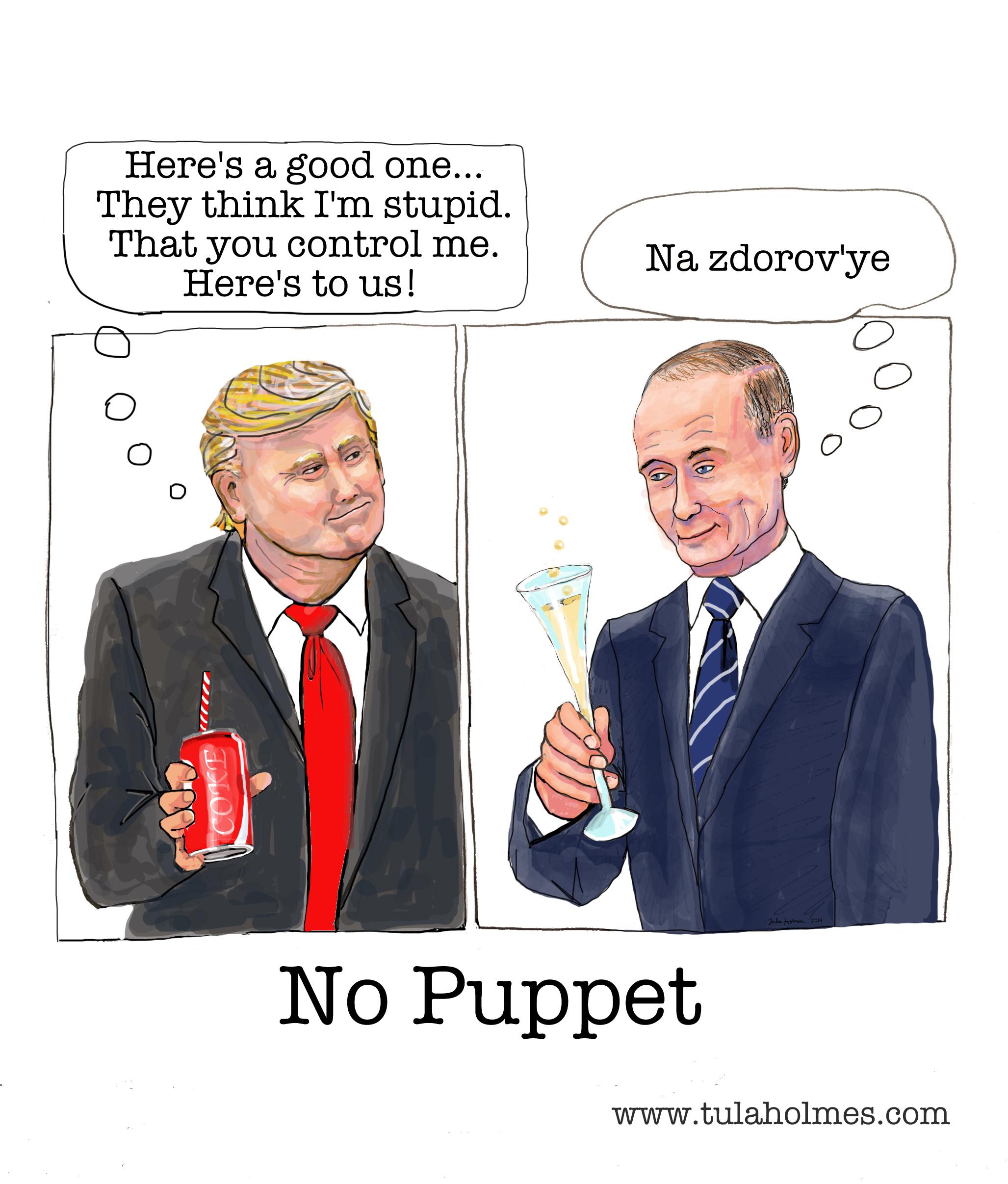 No Puppet- Copyright 2019