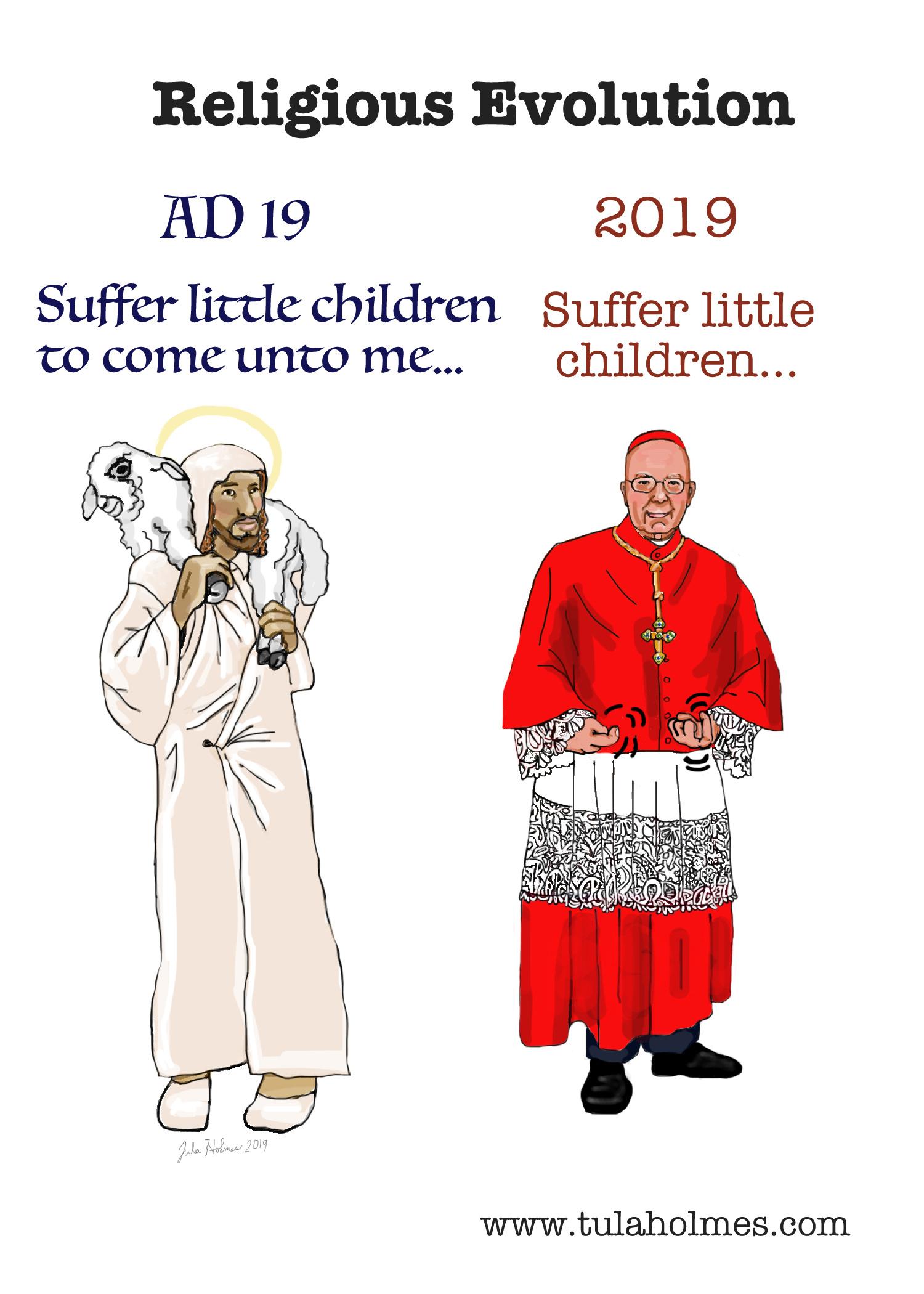 Religious Evolution- Copyright 2019