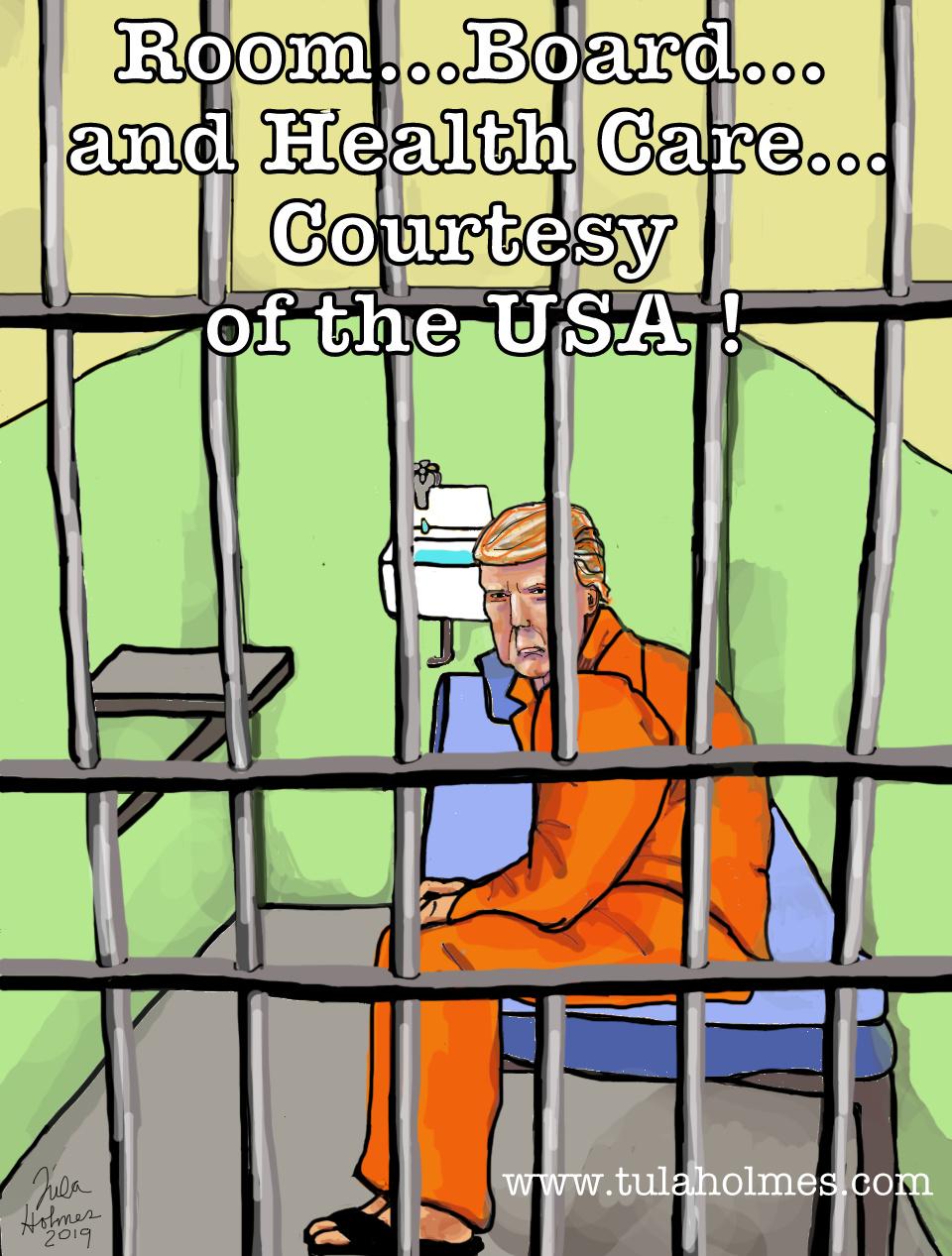 Lock Him Up!- Copyright 2019