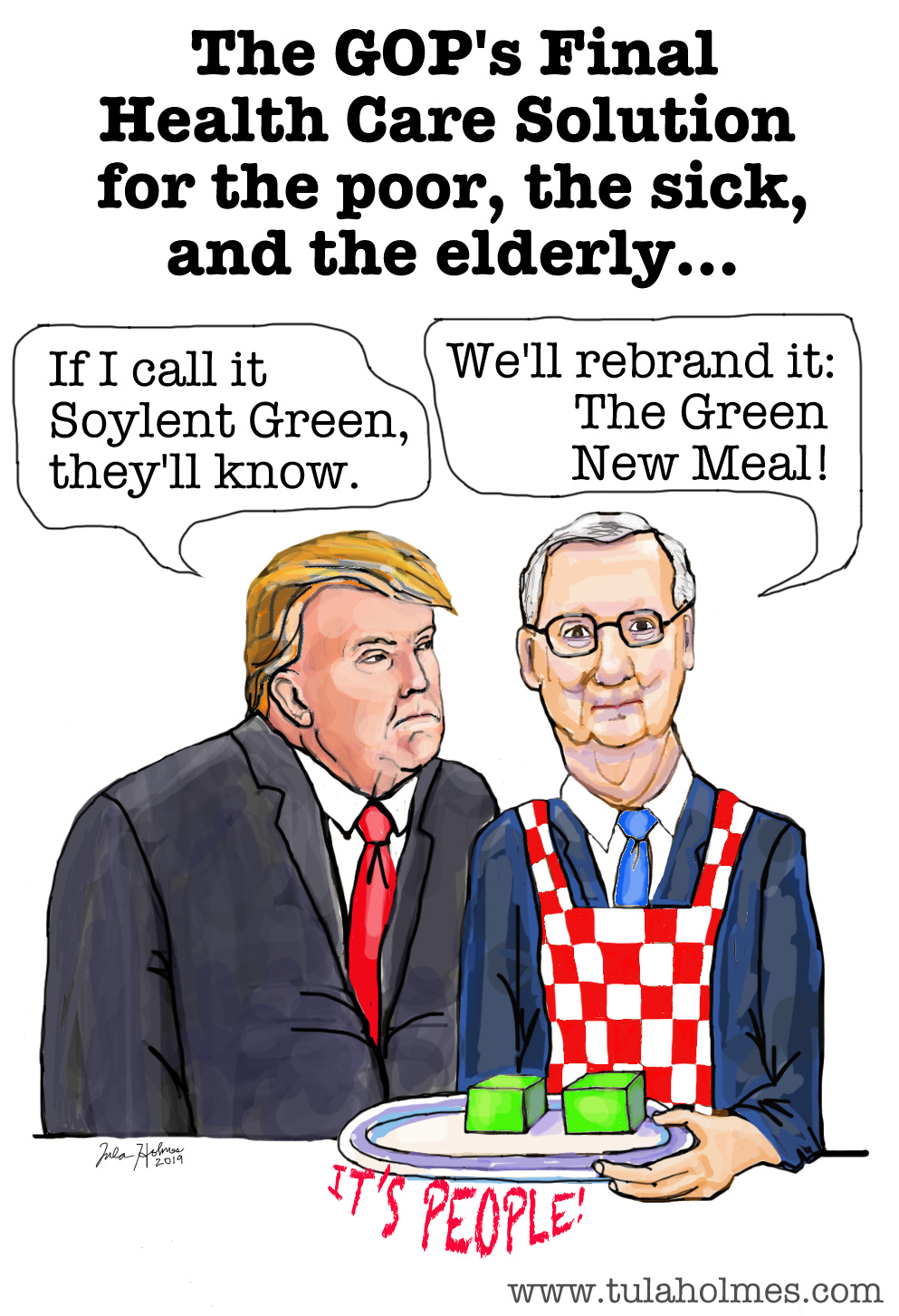 The Green New Meal- Copyright 2019