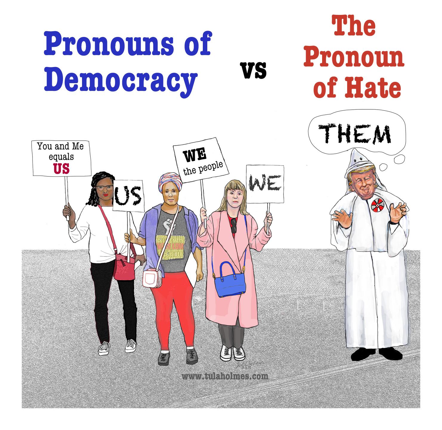 Us versus Them- Copyright 2019