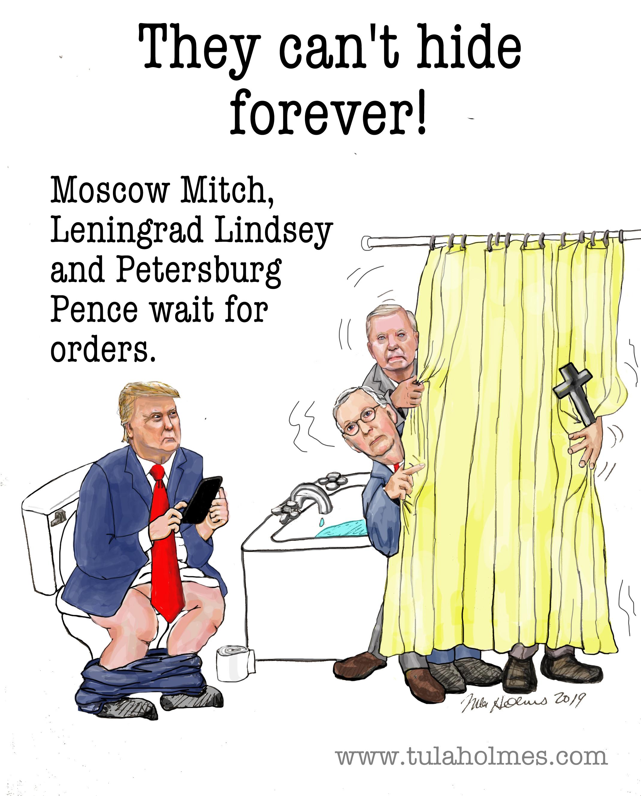 The Putin Gang- Copyright 2019