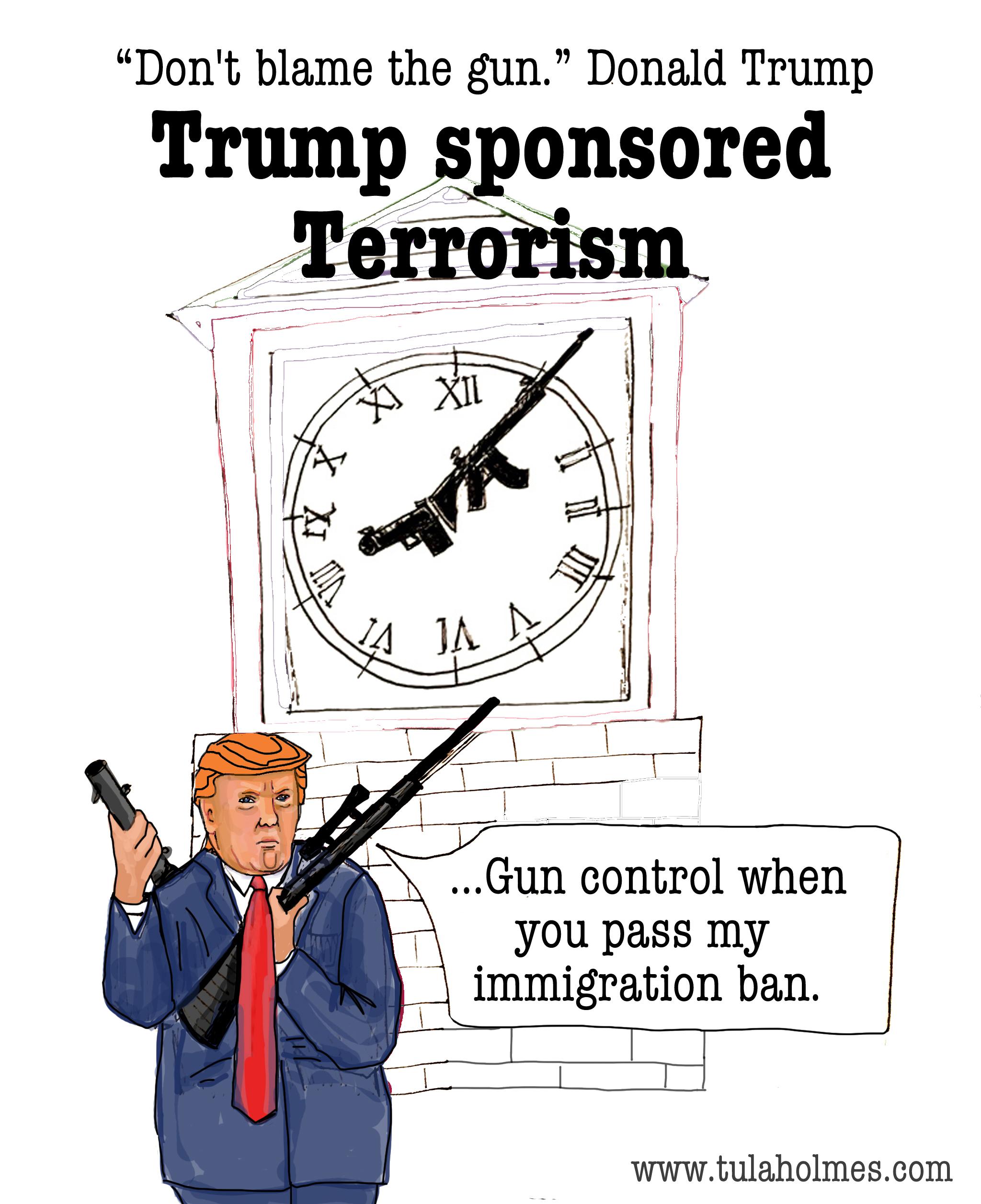 Trump Sponsored Terrorism-Copyright 2019