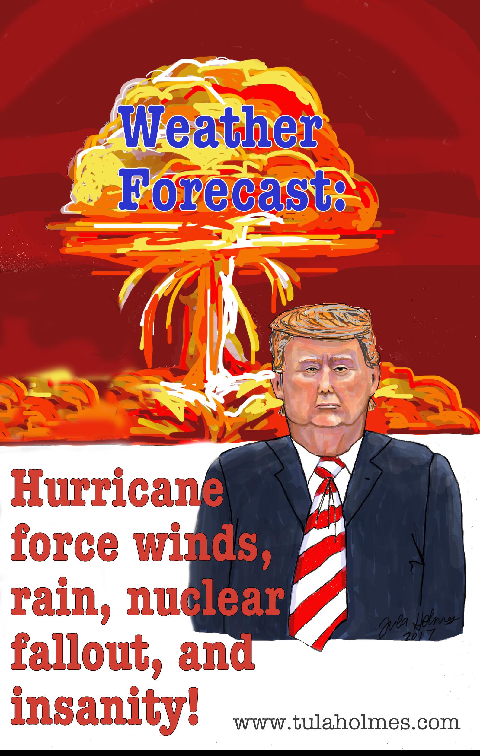 Weather Forecast- Copyright 2019