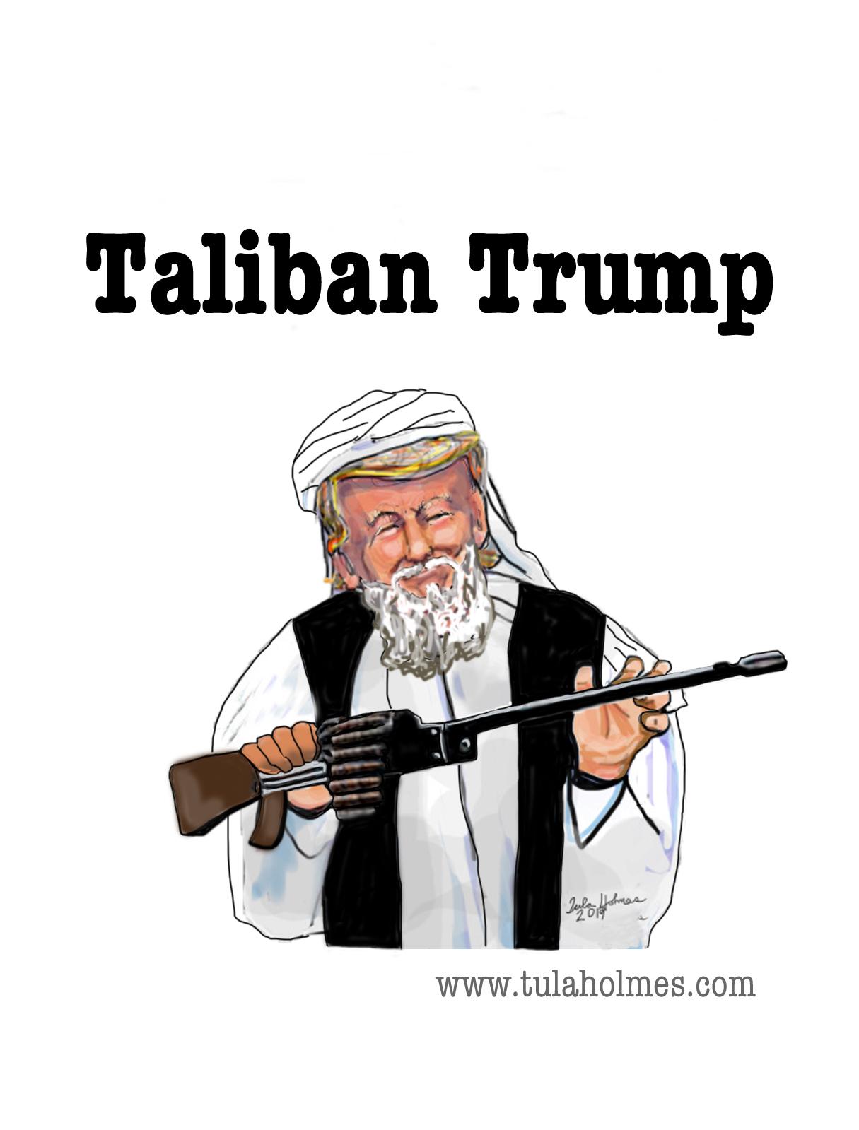 Taliban Trump- Copyright 2019