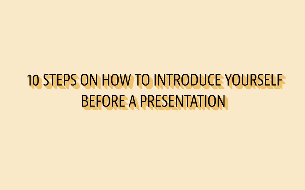 10 pasos para presentarte