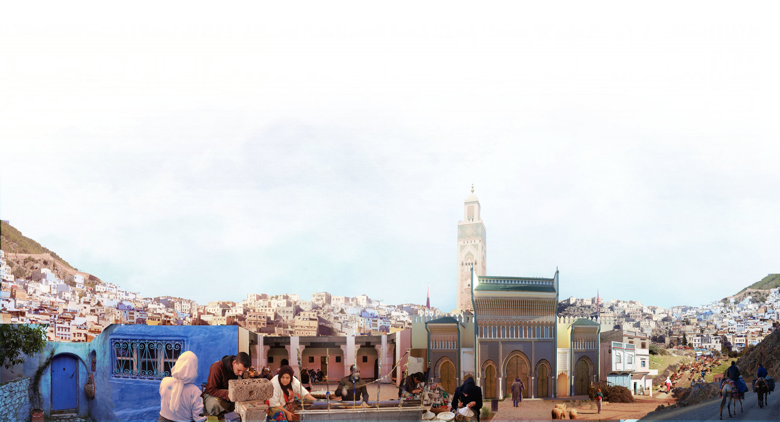 A DAY IN THE LIFE: Moroccan Montage