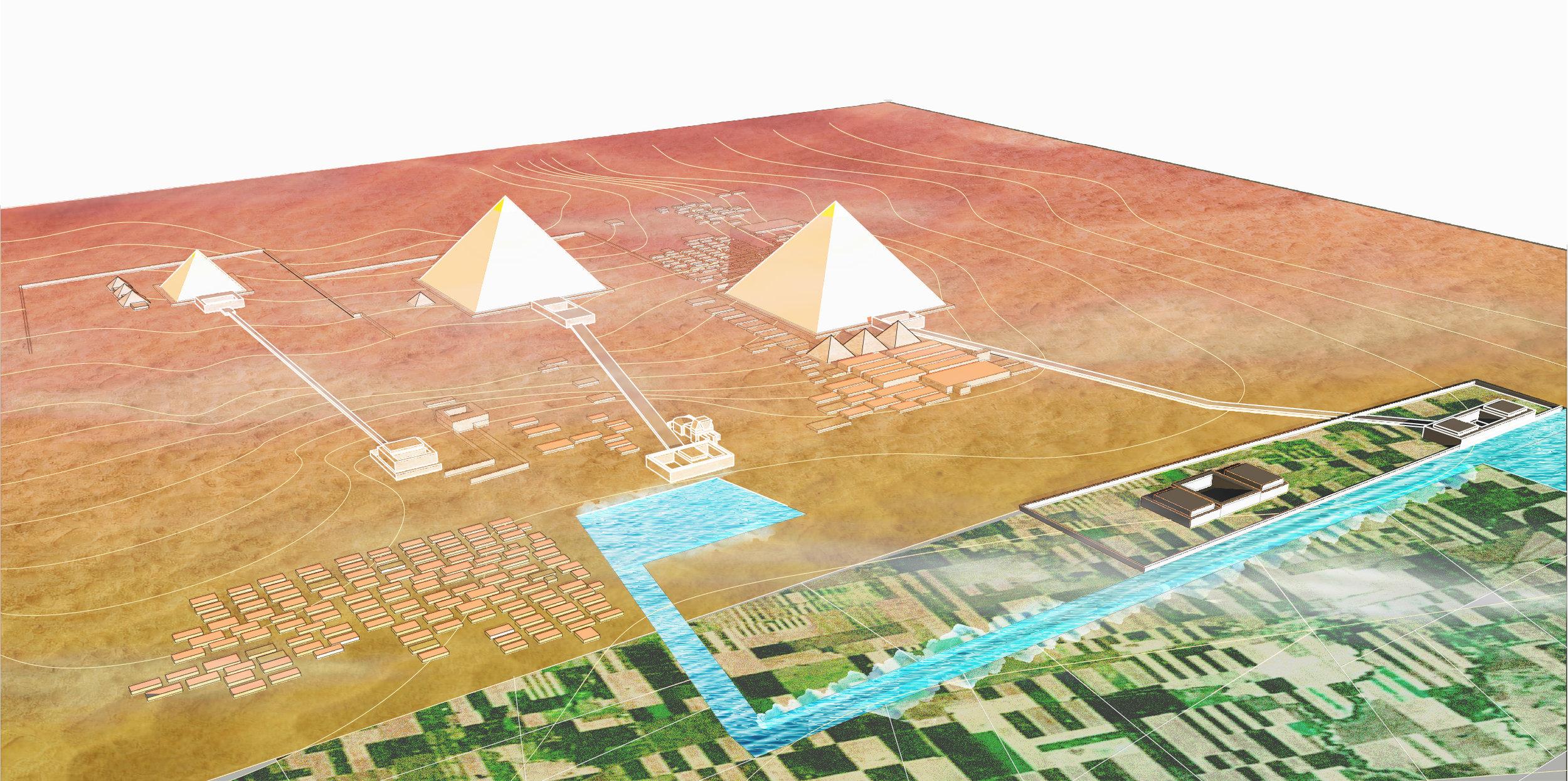 GIZA NECROPOLI: ca. 2500 BCE