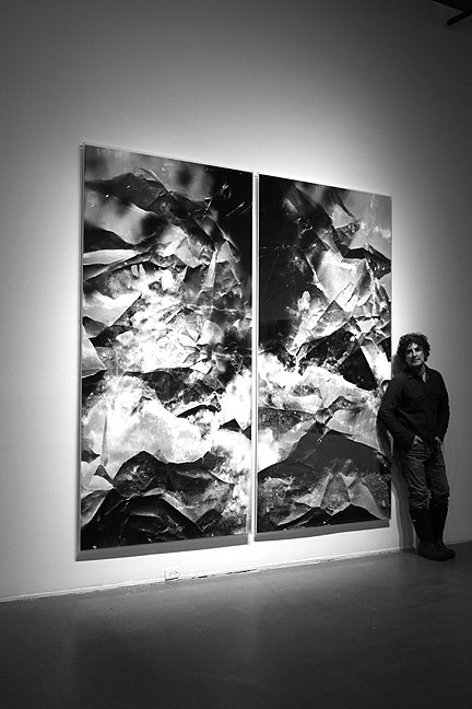 Installation photo of Moonrise, Hernandez, 2013.