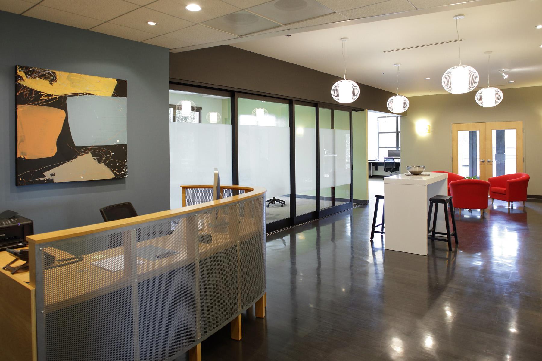 Portland Focus Group Facility Reception Area