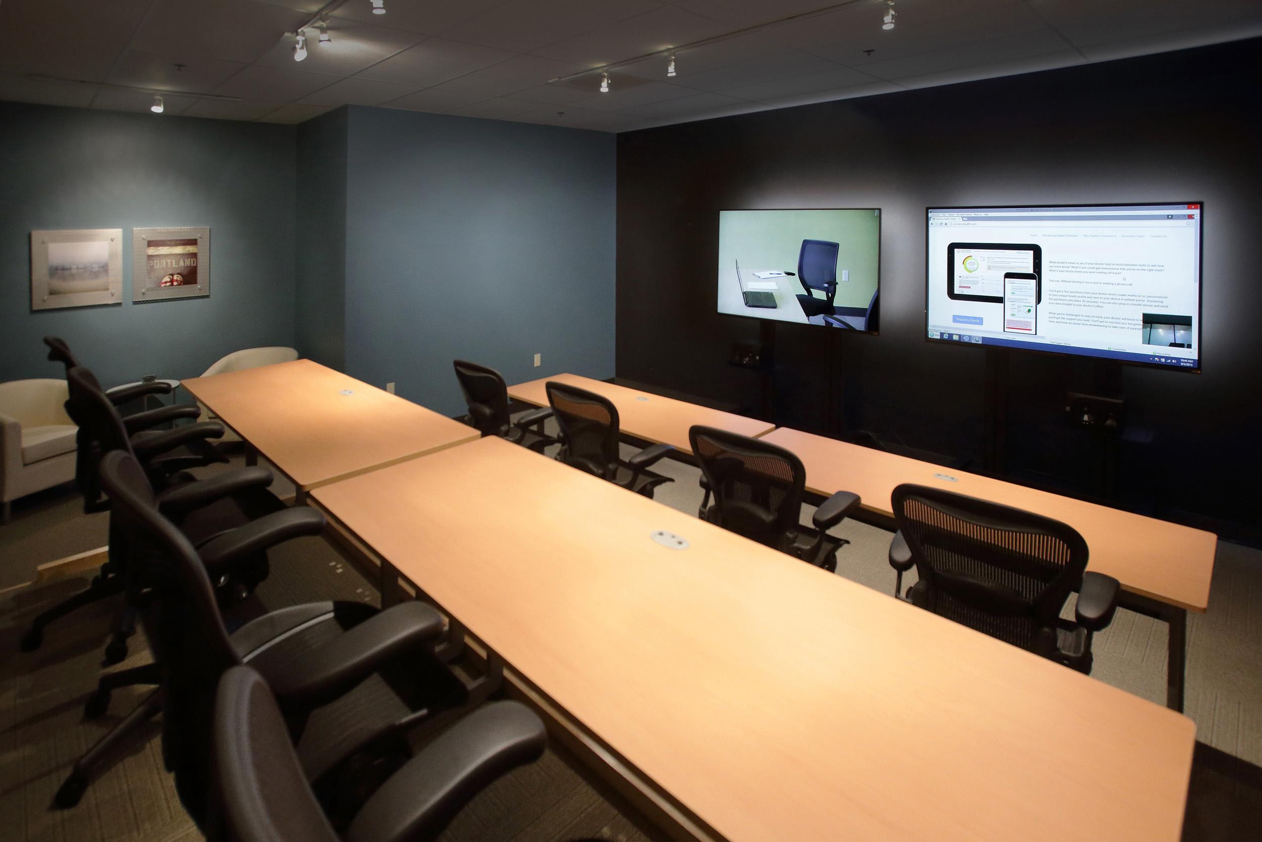 Portland Focus Group Observation Room