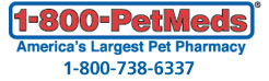 We would like to thank  Pet-Meds  for their donations program!