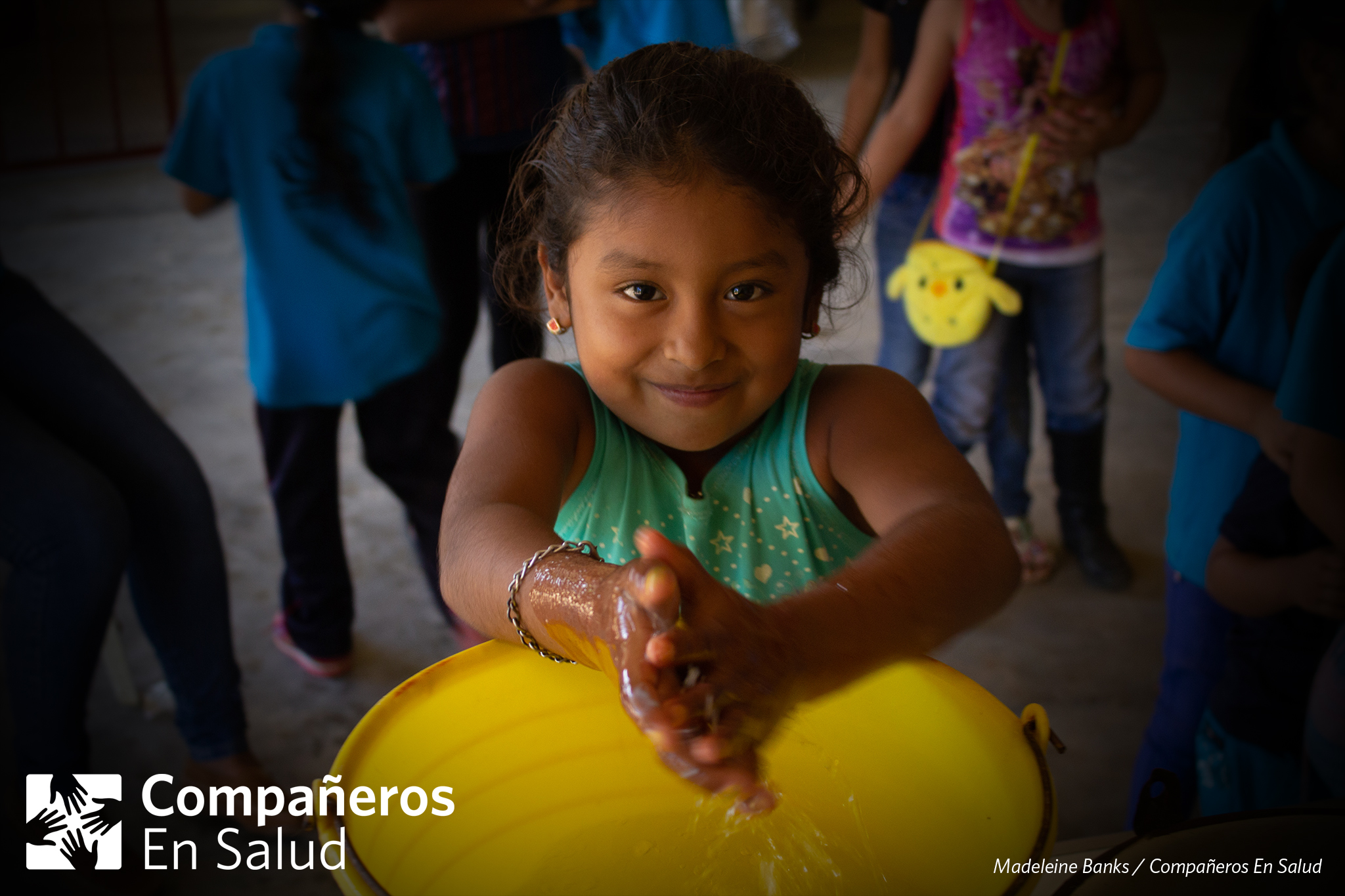 Each year, there are nearly 1.7 billion cases of childhood diarrheal disease; globally, it is one of the top 3 leading causes of death in children under five years old. Fortunately, in Chiapas, the last decade has seen a more than 40% decrease in the death rate for children under five due to diarrheal disease. Even so, the rate is still nearly 3 times the national rate.  Volunteers from Compañeros En Salud were part of a collaborative team of several organizations that held a Health Fair, an annual event for the children of Jaltenango de la Paz where our office is located. This year, the team taught 150 students on topics of hygiene, parasites, serum and hydration to help in the prevention and treatment of diarrheal diseases.   Photo: At the Health Fair, volunteers from Partners in Health held a workshop on how to wash their hands and food, in a hygienic way, to avoid parasites.    Read more