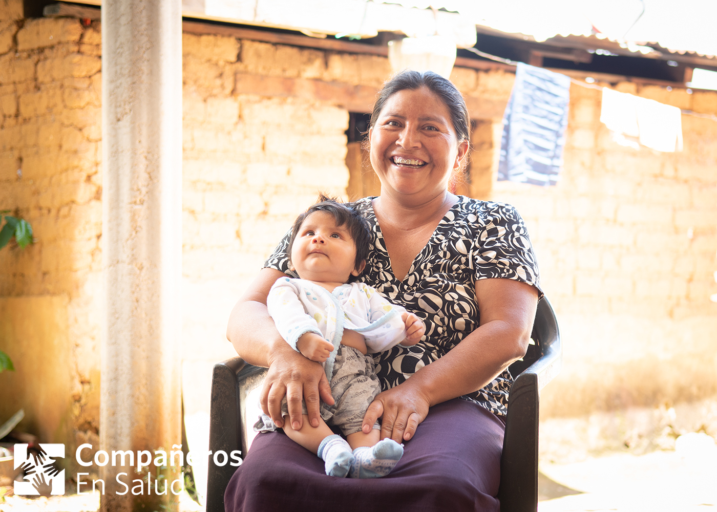 Thanks to her medical team's timely diagnosis of preeclampsia (a condition that can be life-threatening), Olga was able to undergo an emergency c-section in time to ensure her wellbeing and that of her baby, Omar.