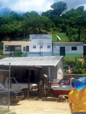 Clínica rural en Chiapas, México