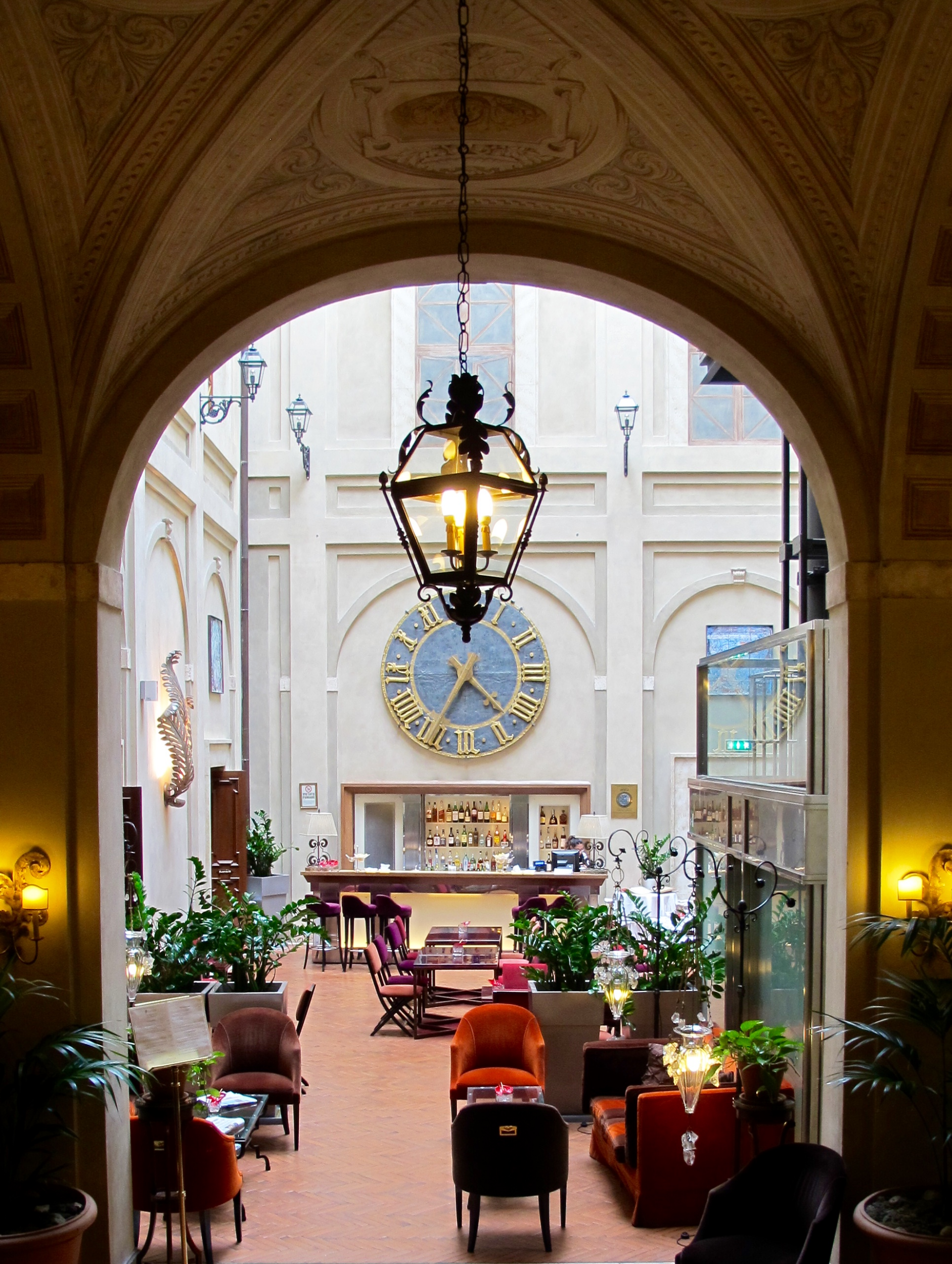 Grand Hotel Continental, SIena, Italy