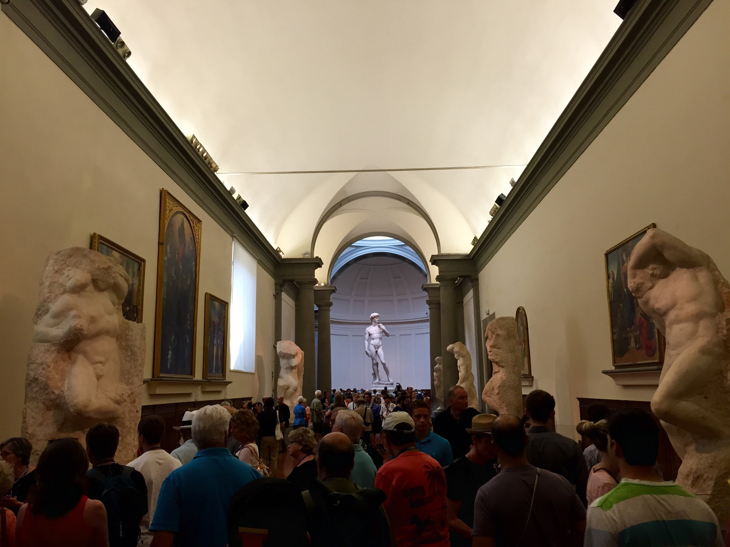 Michelangelo's David Florence Italy