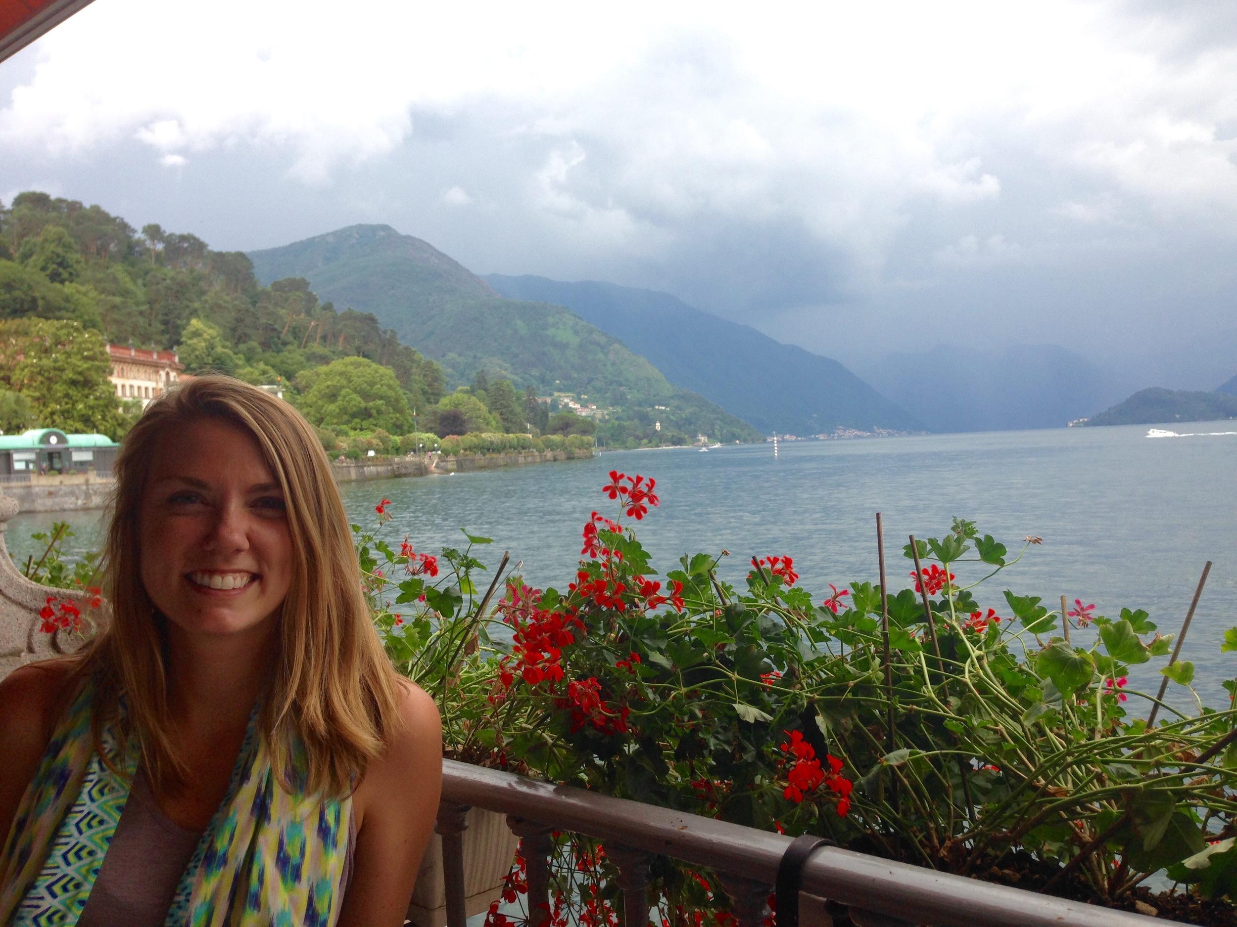 Amy Johns Bellagio Lake Como Italy