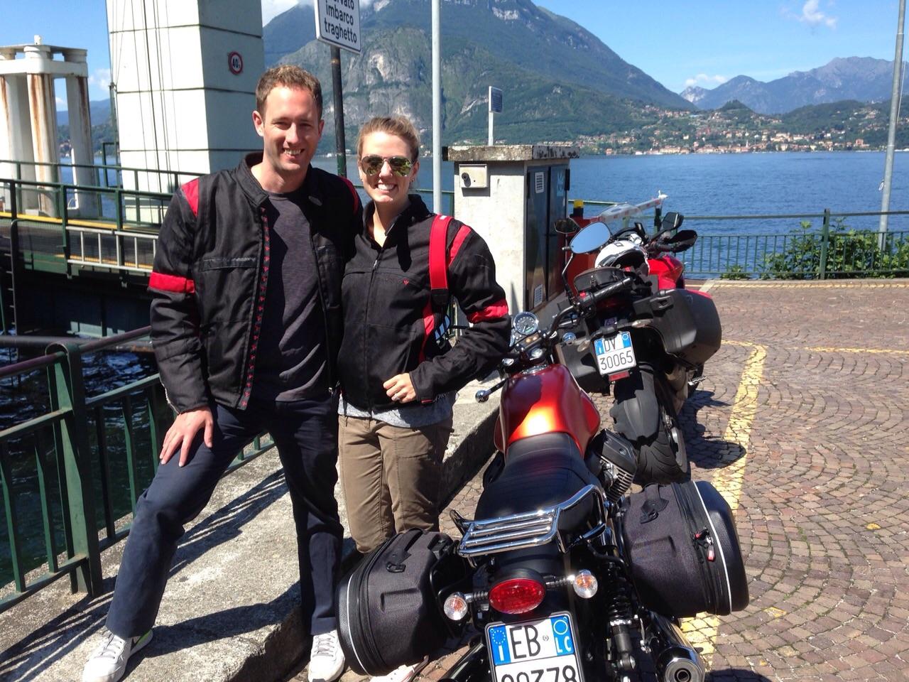 Amy Johns Lake Como Italy