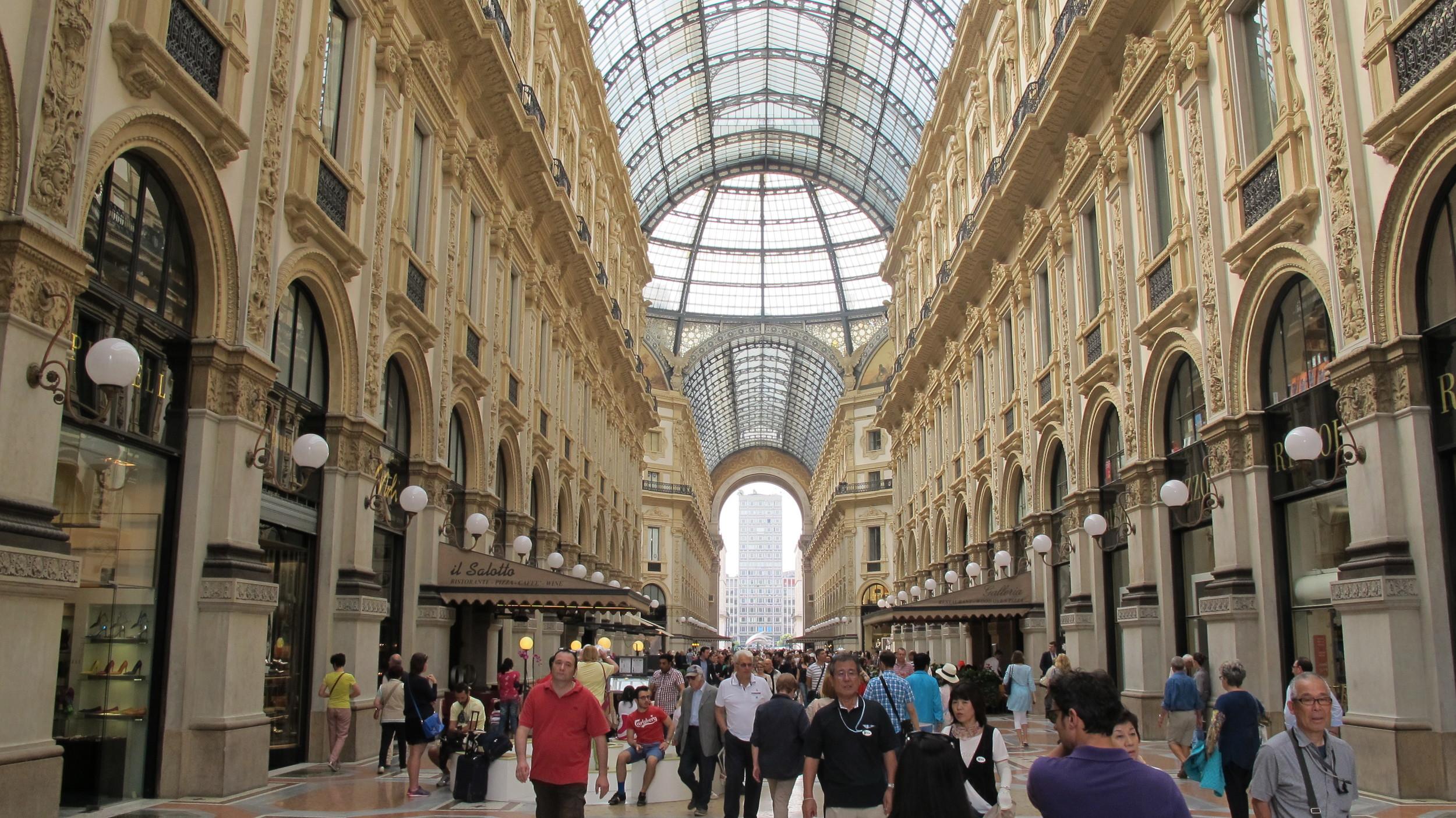 Galleria Vittorio Emmanuelle Milan Italy