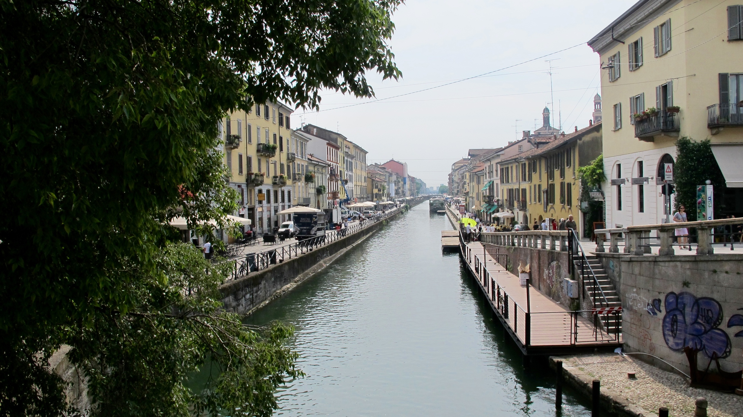 Navigli Milan Italy