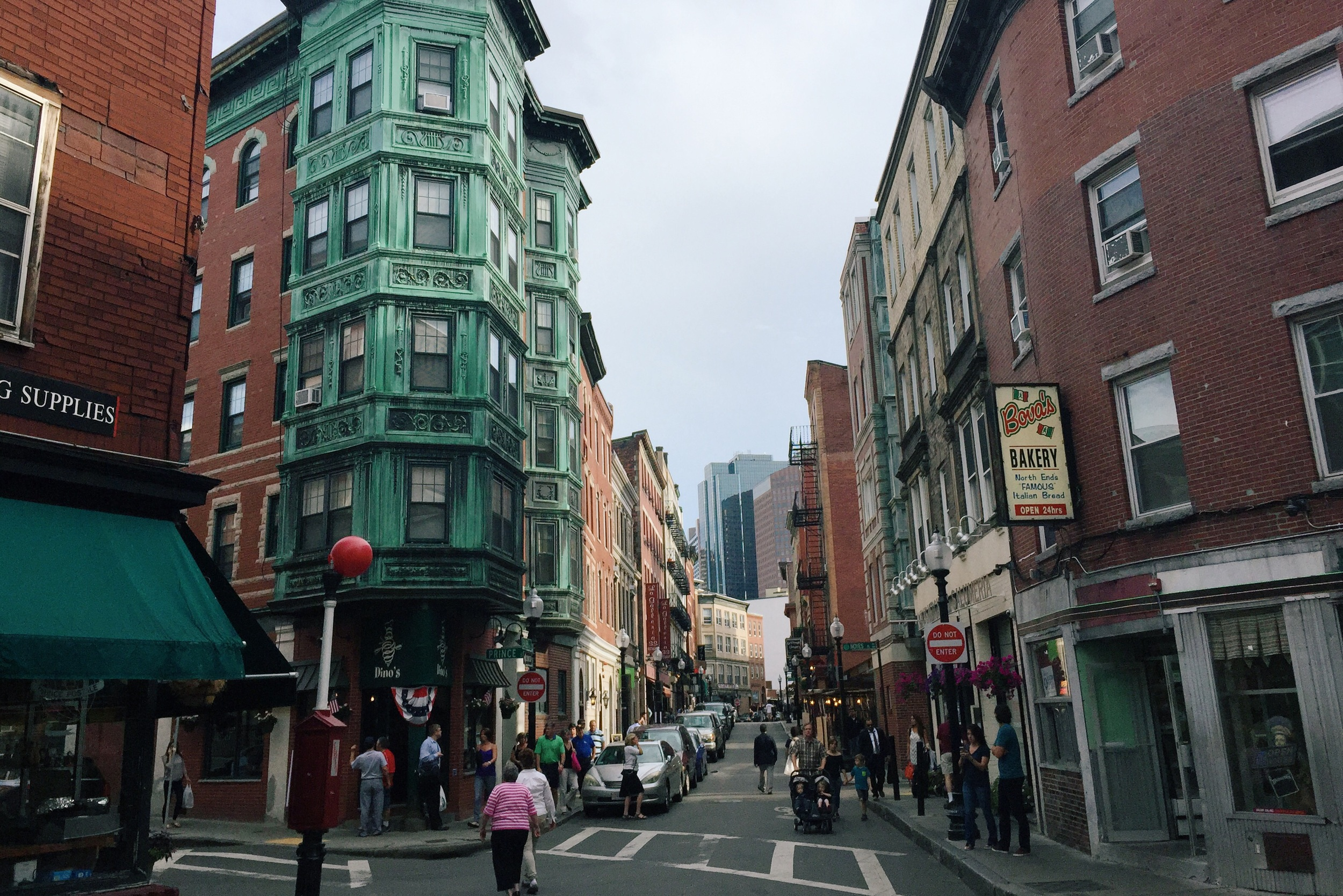 The North End, Boston, Massachusetts