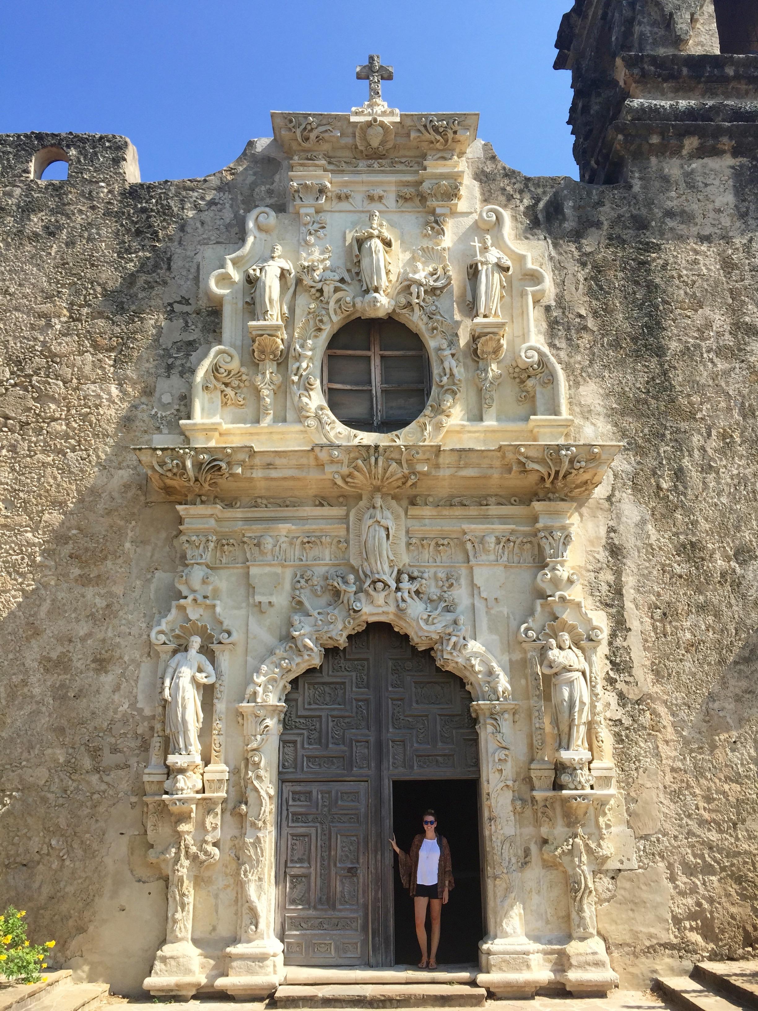 Mission San Jose, Mission Trail, San Antonio, Texas