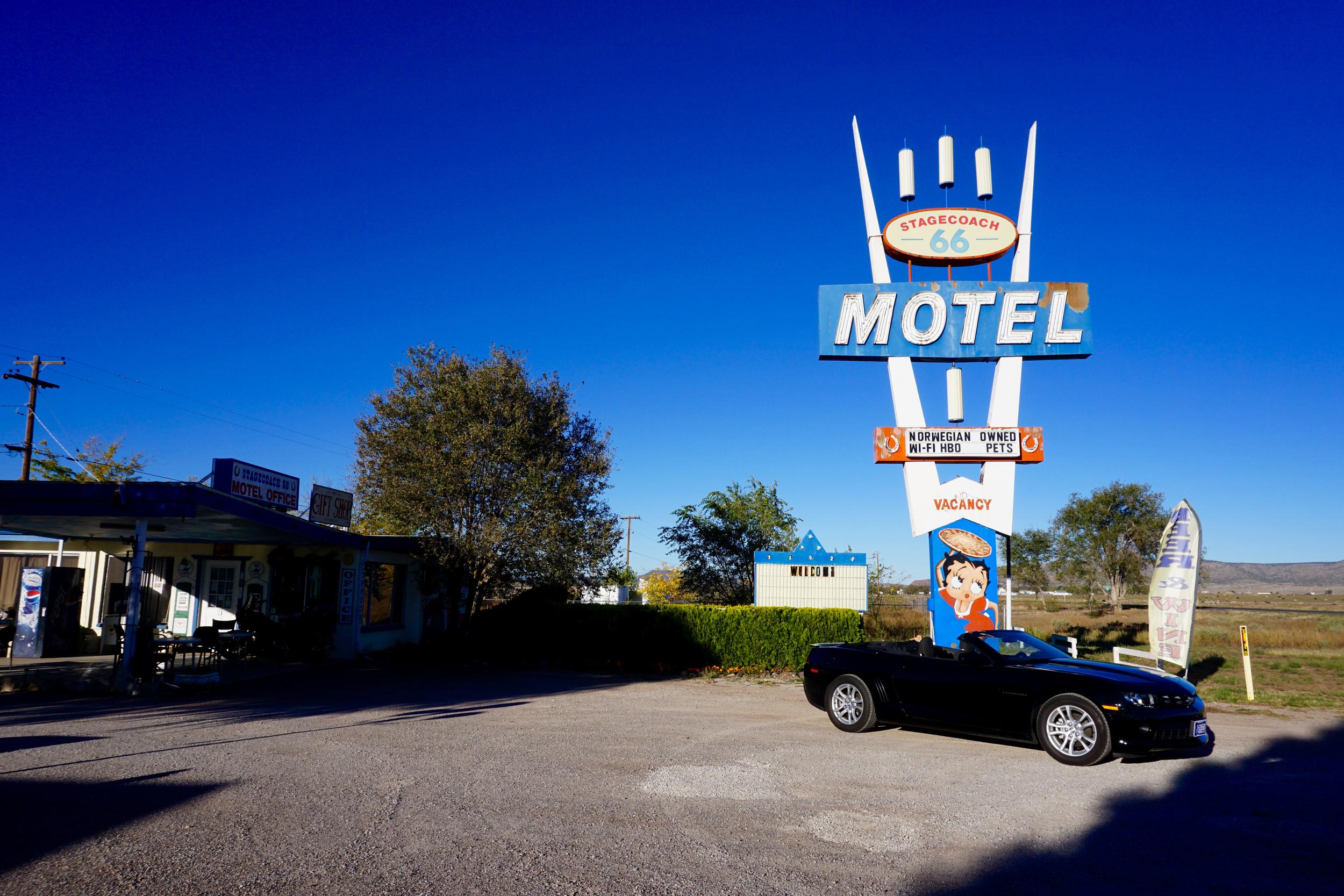 Stagecoach Inn, Route 66, Seligman, Arizona