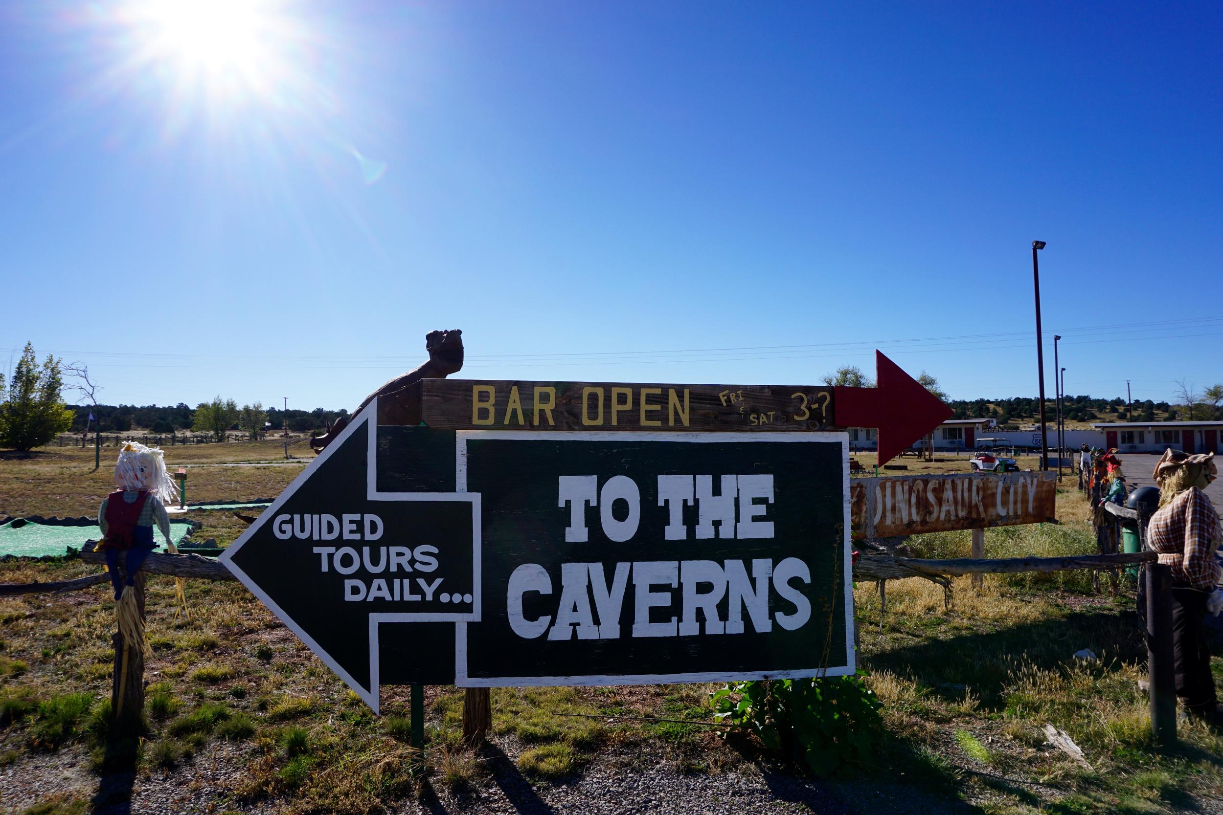 Caverns Inn, Route 66, Peach Springs, Arizona