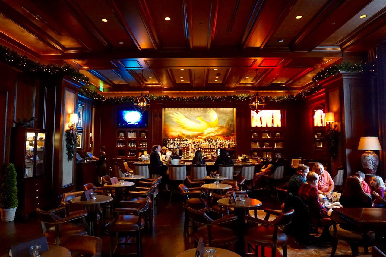 The Bar at the St. Regis, Atlanta, Georgia